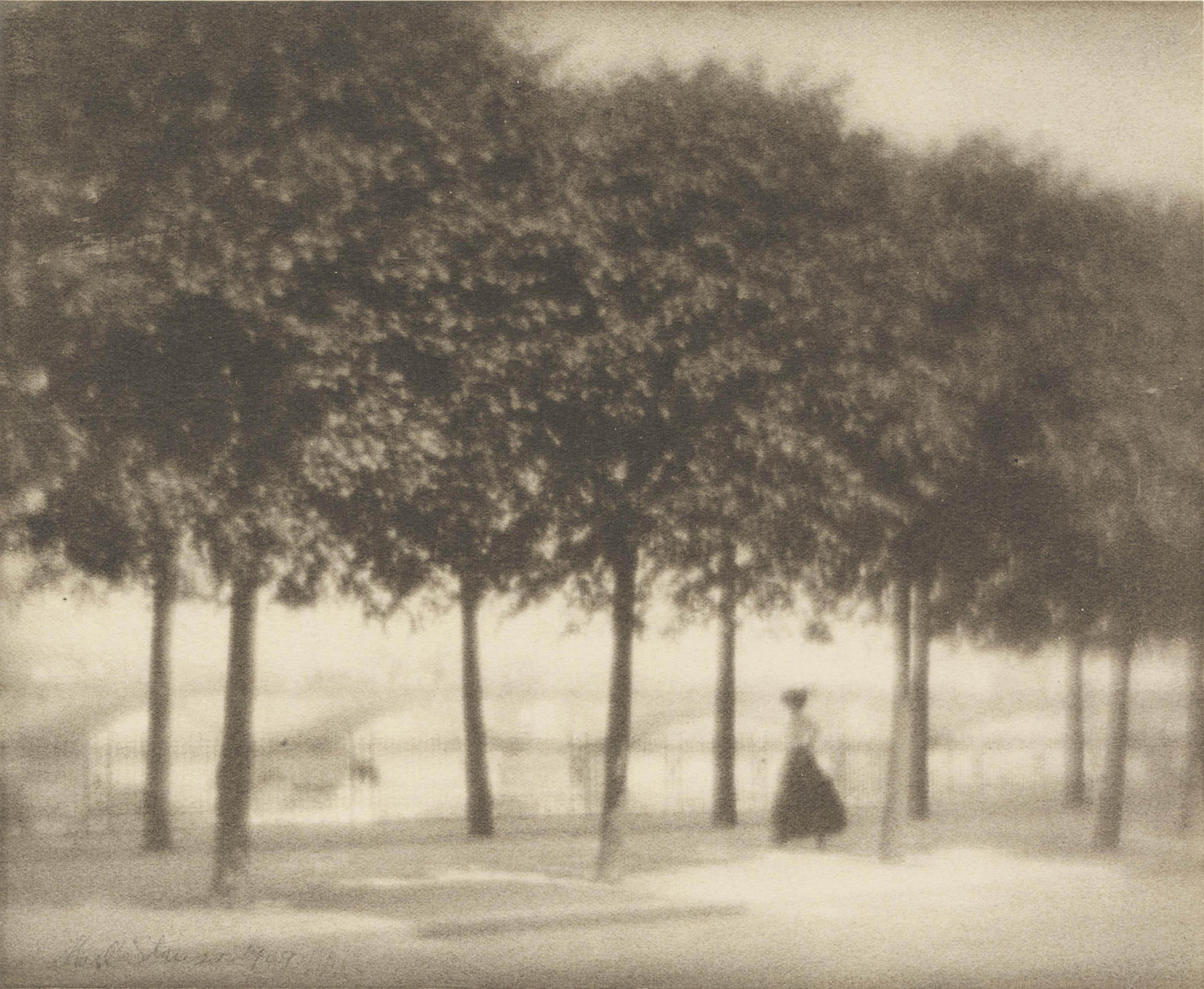 Along the Elbe, Dresden, 1909