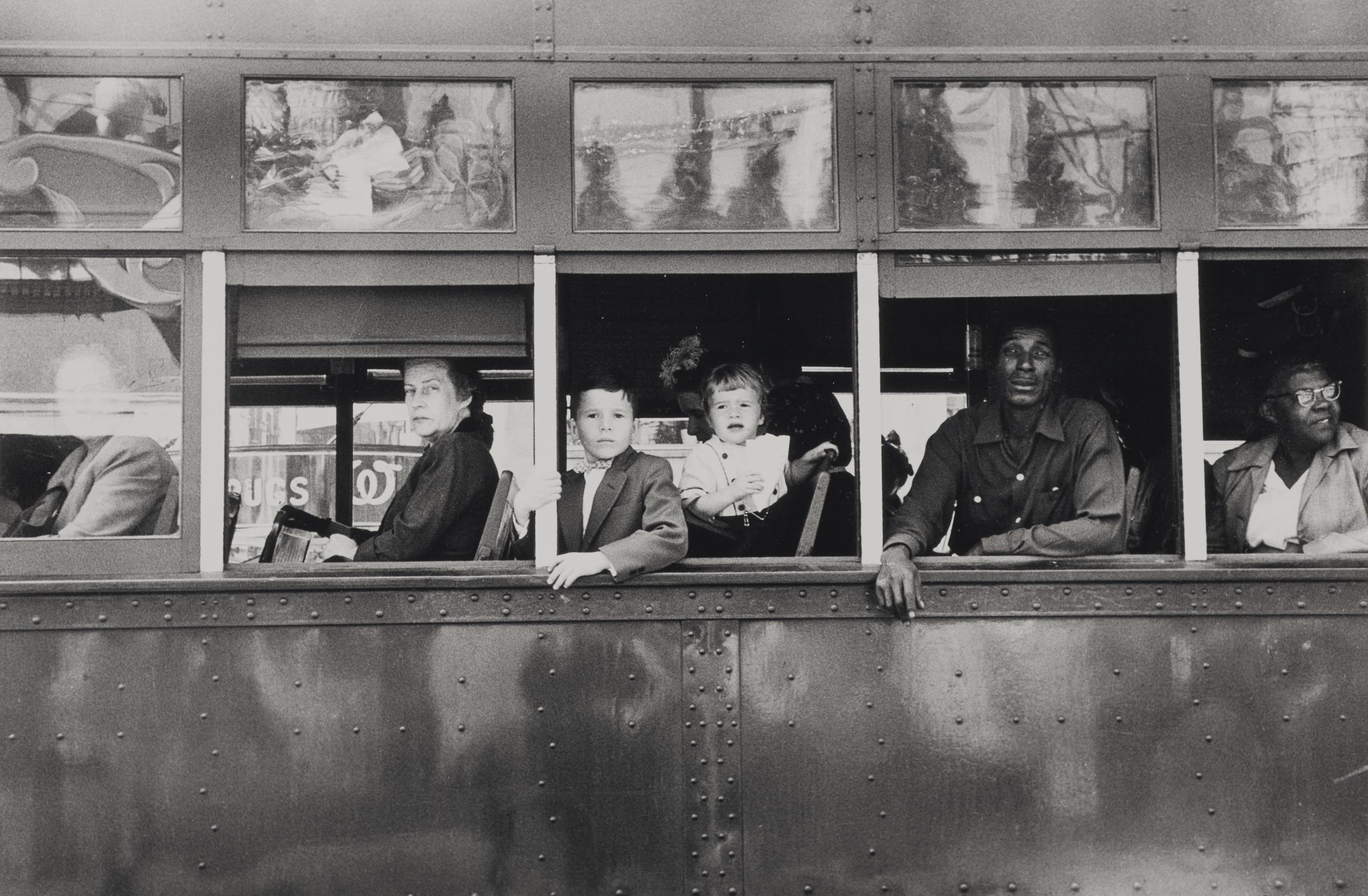 Trolley - New Orleans, 1955
