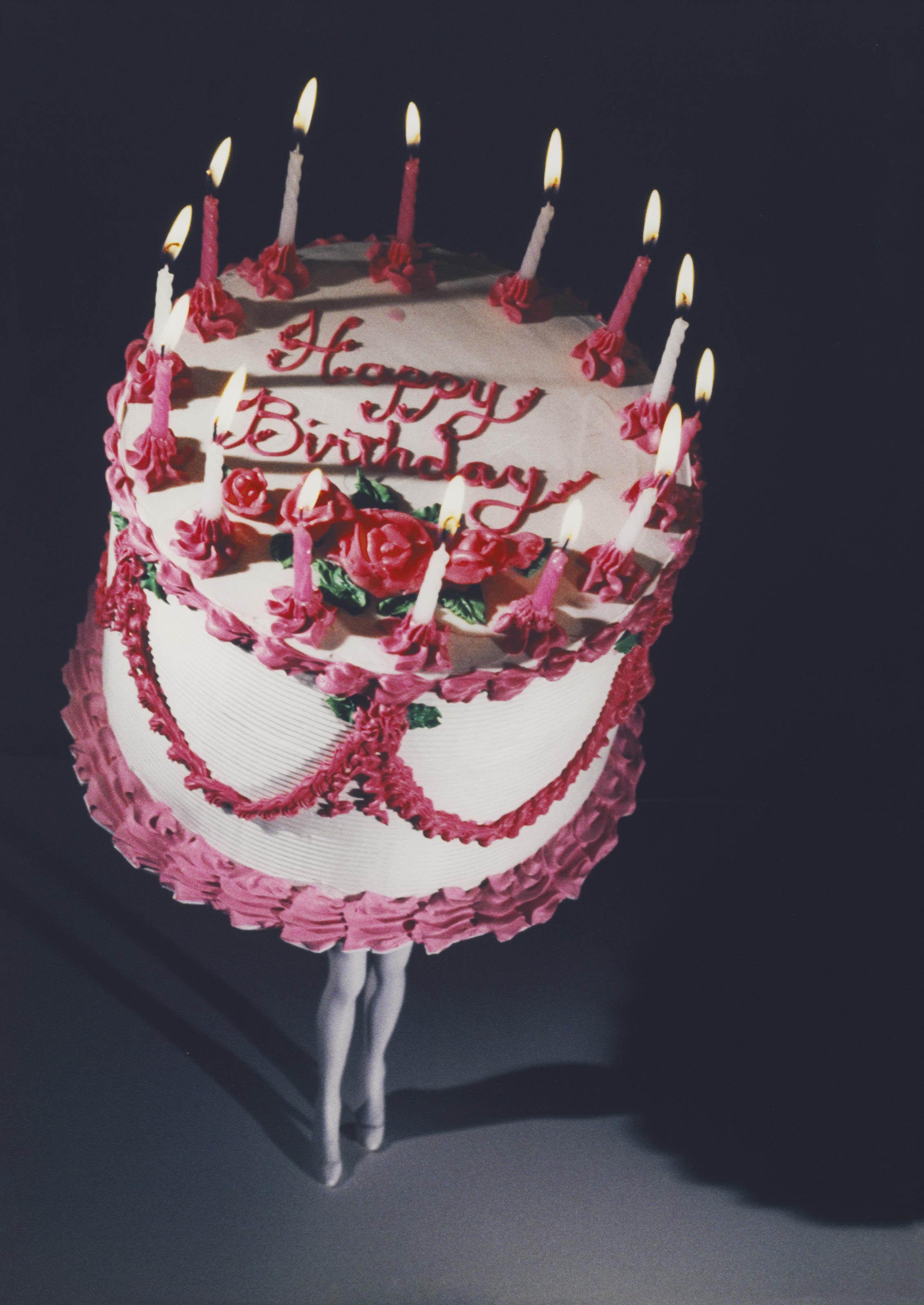 Walking Cake II (Color)