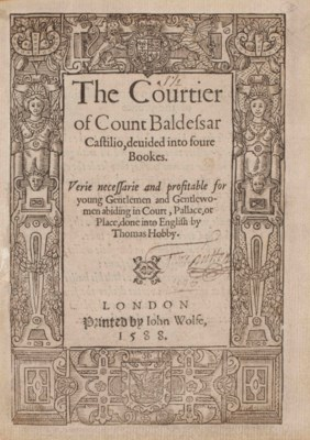 an analysis of courtiers in the book of the courtier by baldassare castiglione The book of the courtier, presented as a dialogue among members of the court at urbino, combines medieval and classical ideals, and says a courtier must be both a soldier and a scholar the first speaker of the selection in our text is count lodovico, who argues that a proper courtier must be brave, loyal, and undaunted, and must maintain a balance.