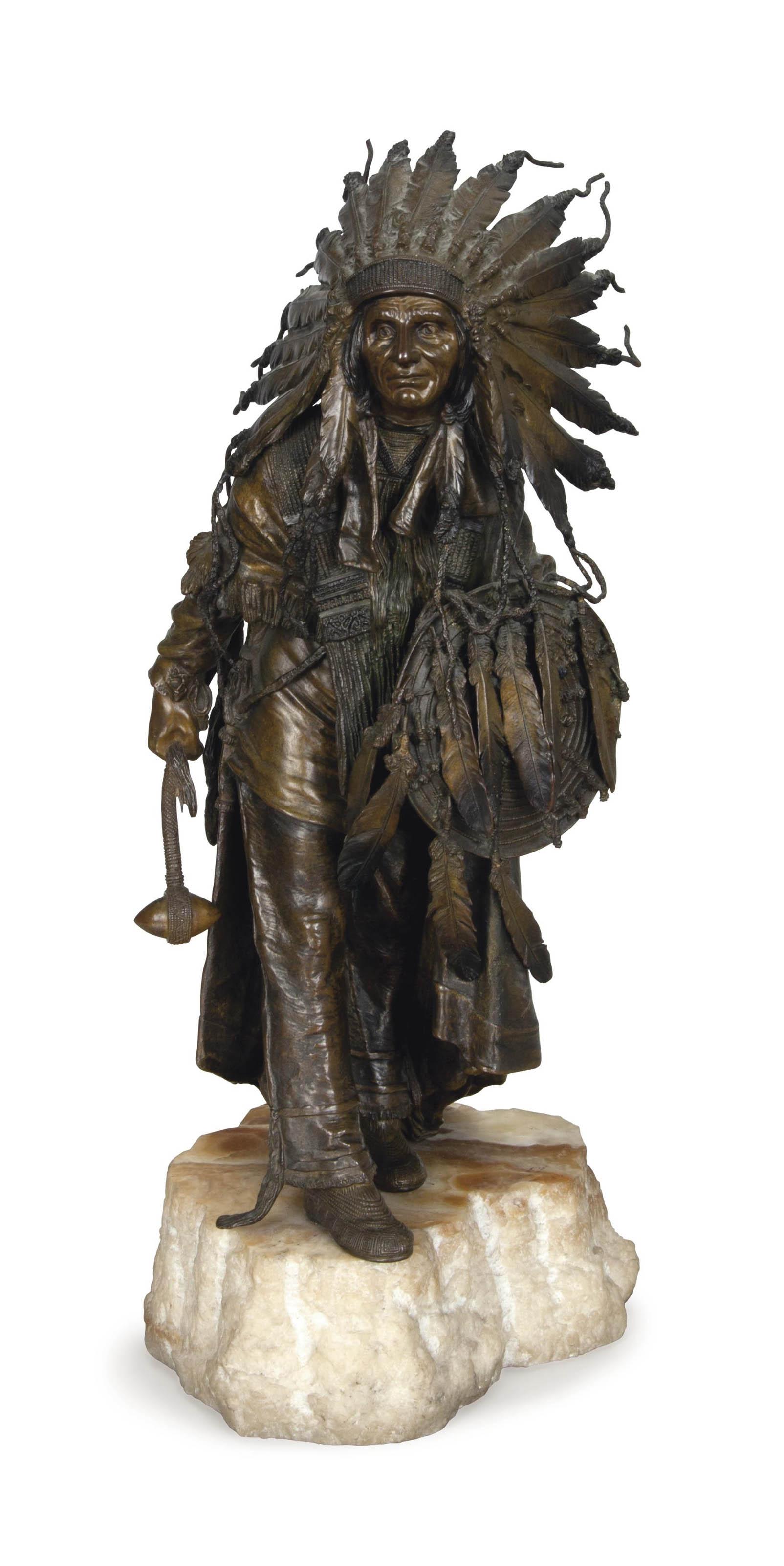 Untitled (Warrior Chief)