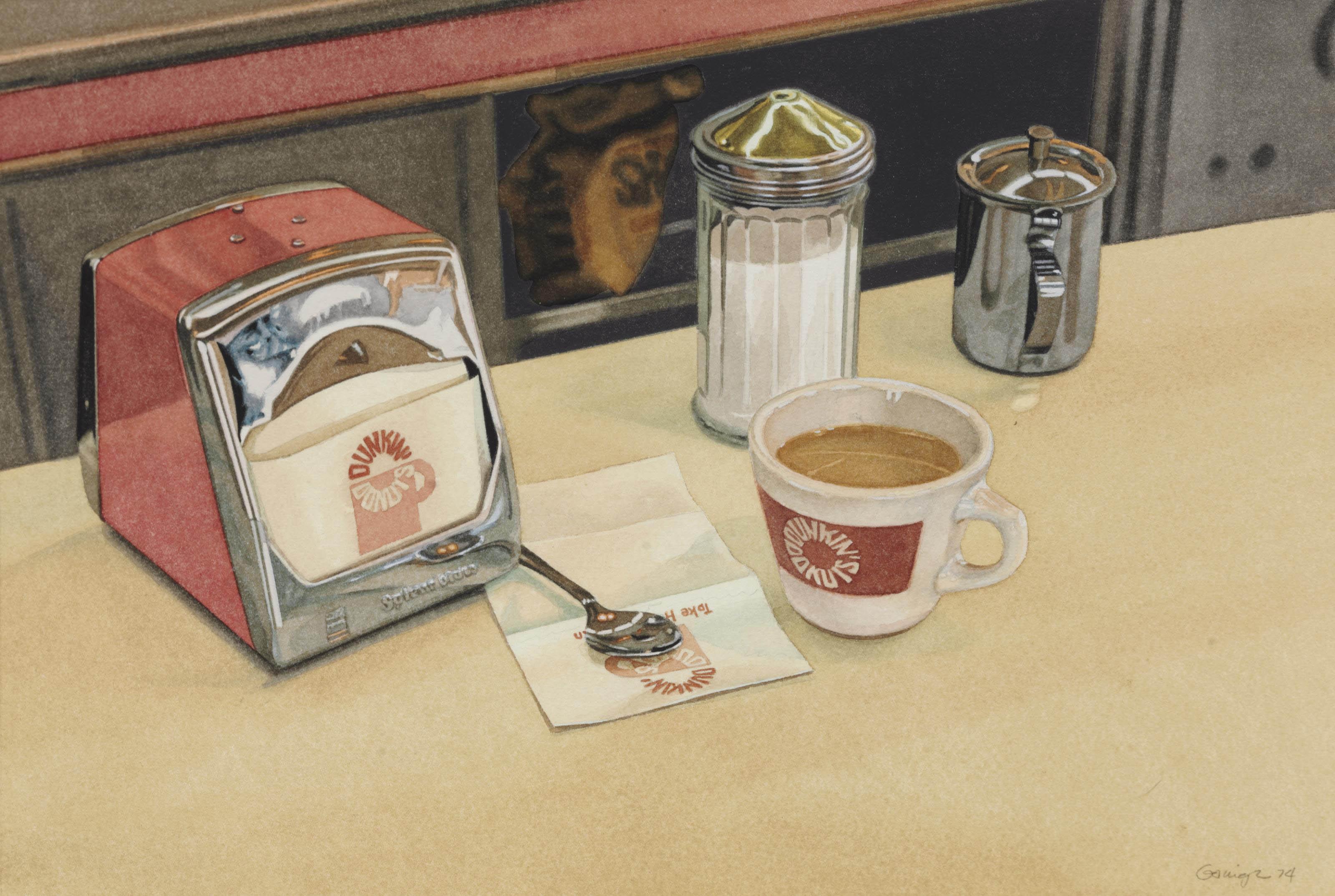 Dunkin' Donuts Coffee Shop