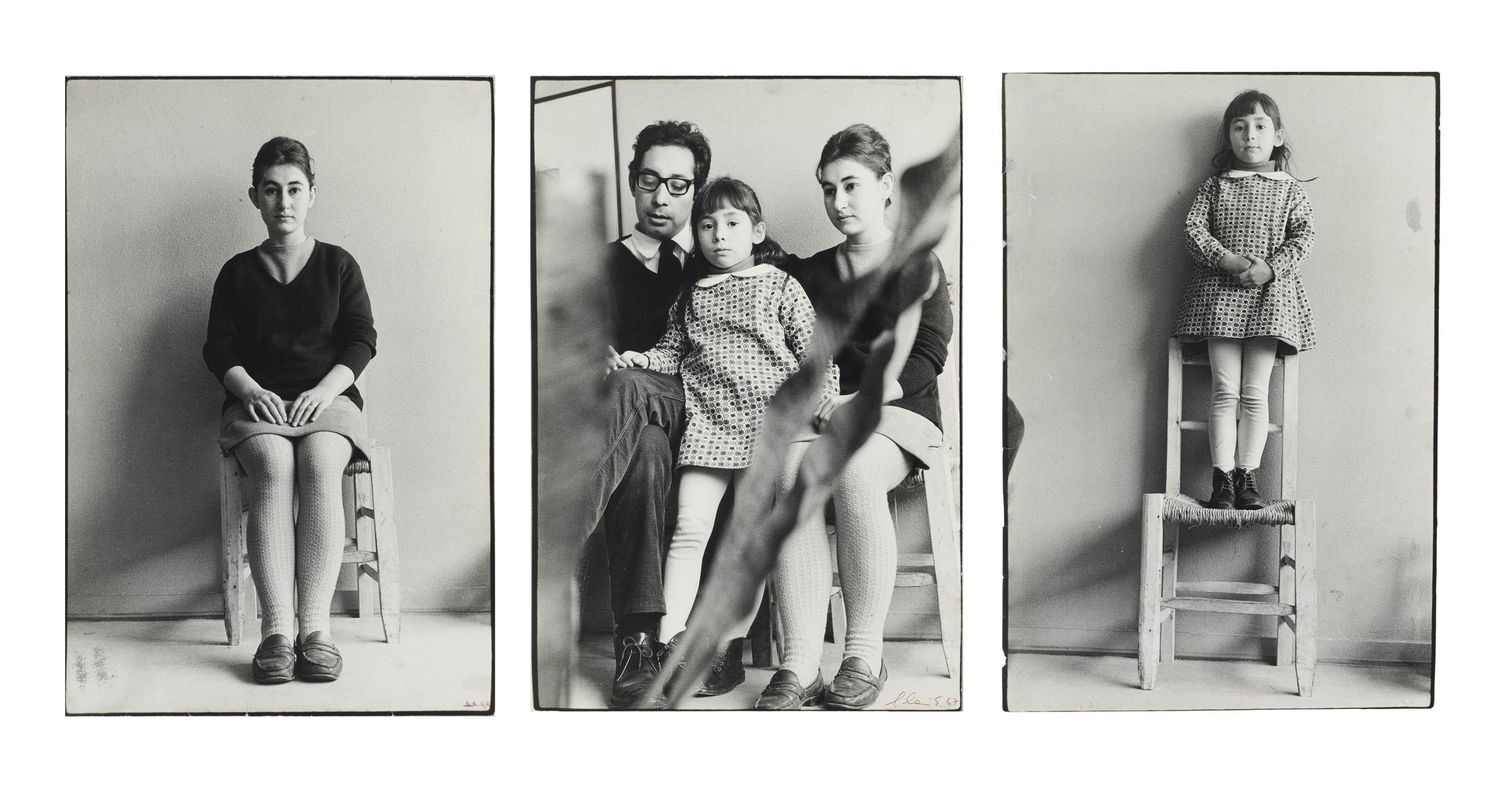 The Leiva Family, Chile, 1967