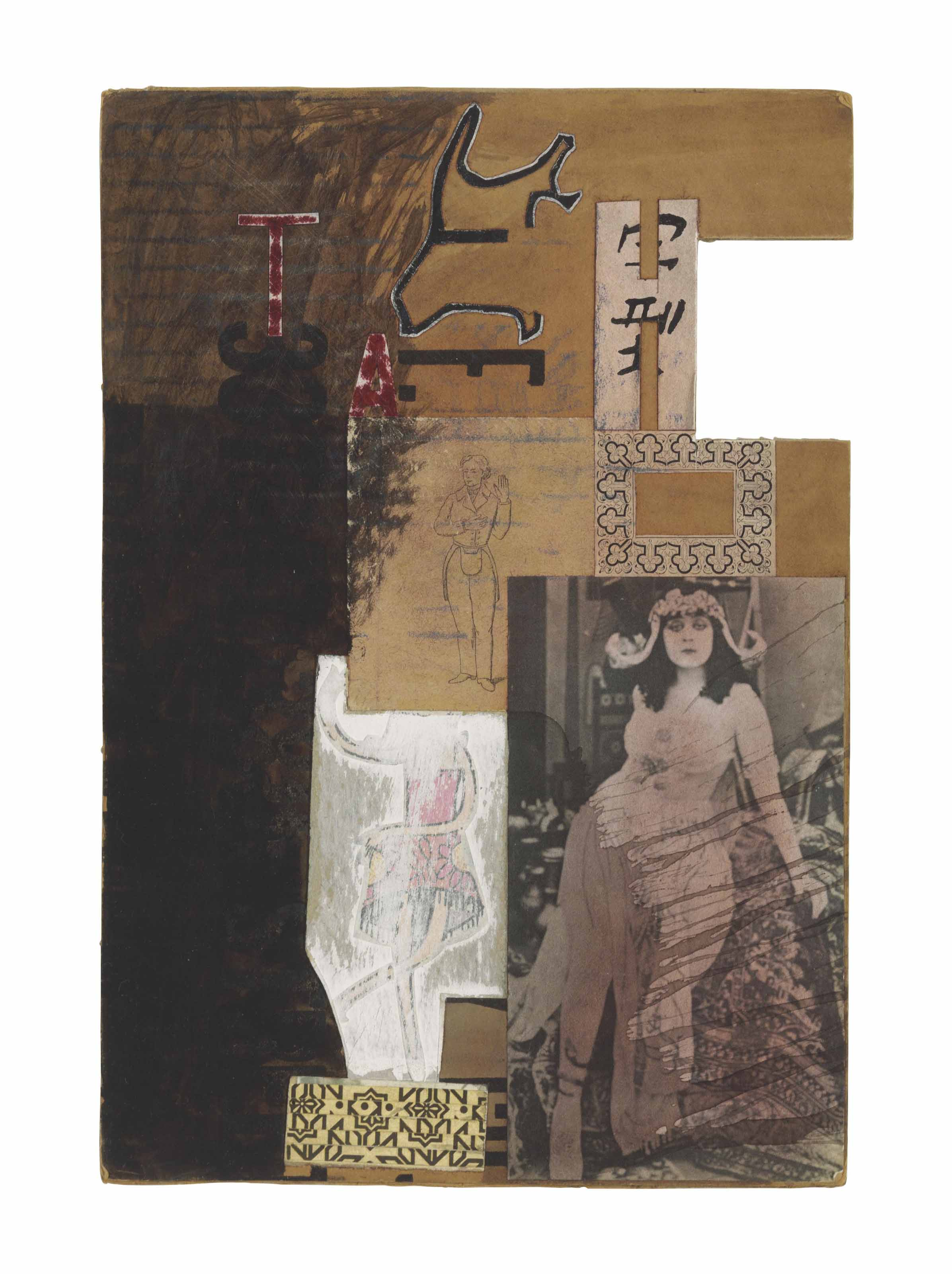 Untitled (Moticos with Silent Film Star)