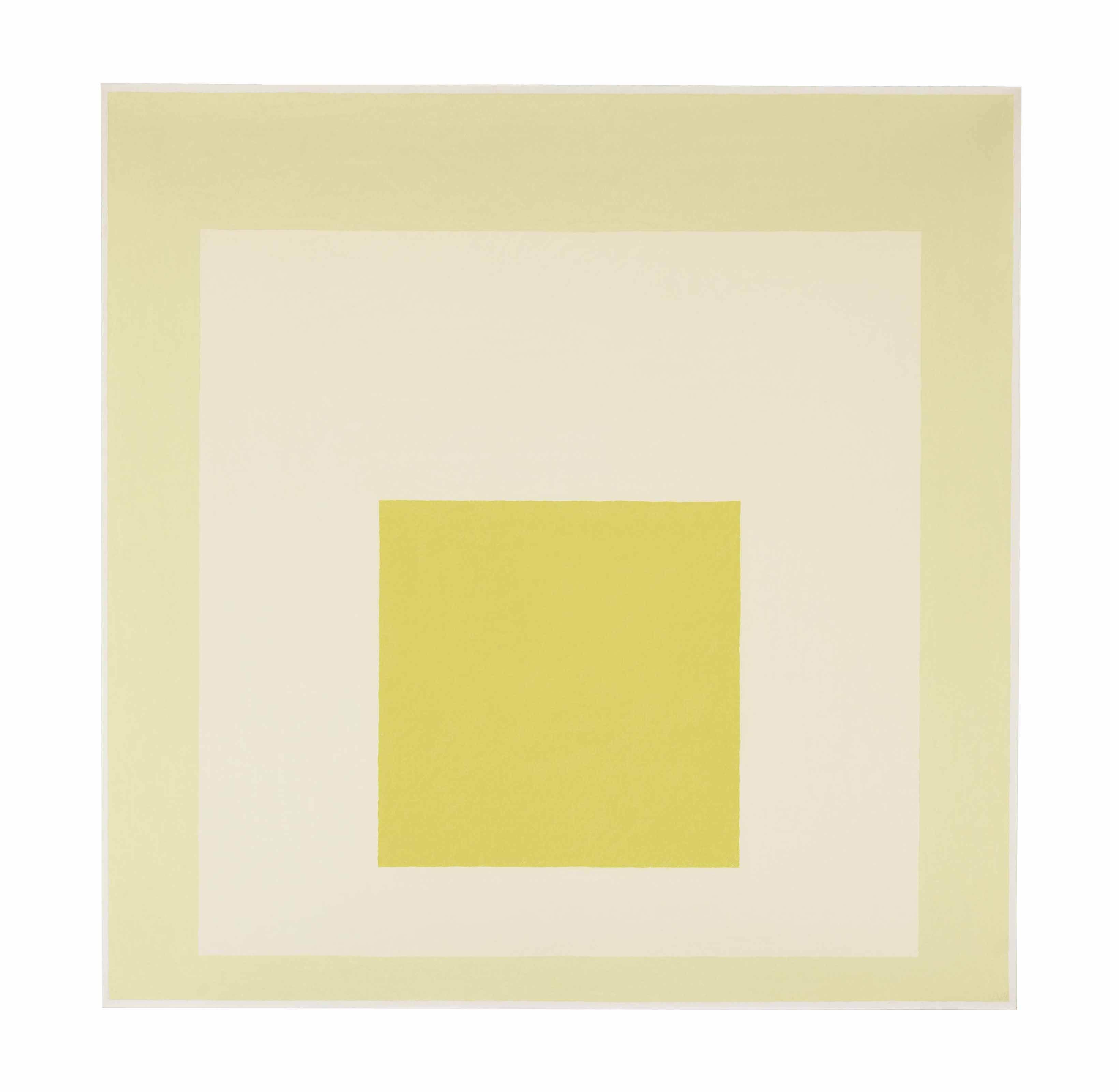 Homage to the Square: White Nimbus