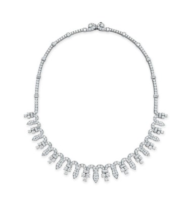 A DIAMOND NECKLACE, BY BVLGARI