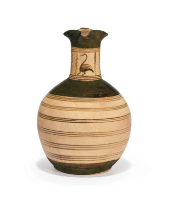 A GREEK POTTERY OINOCHOE