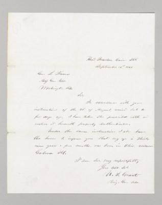 grant ulysses s 1822 1885. Black Bedroom Furniture Sets. Home Design Ideas