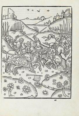 tristan chevalier de la table ronde nouvellement imprim 233 a antoine v 233 rard not