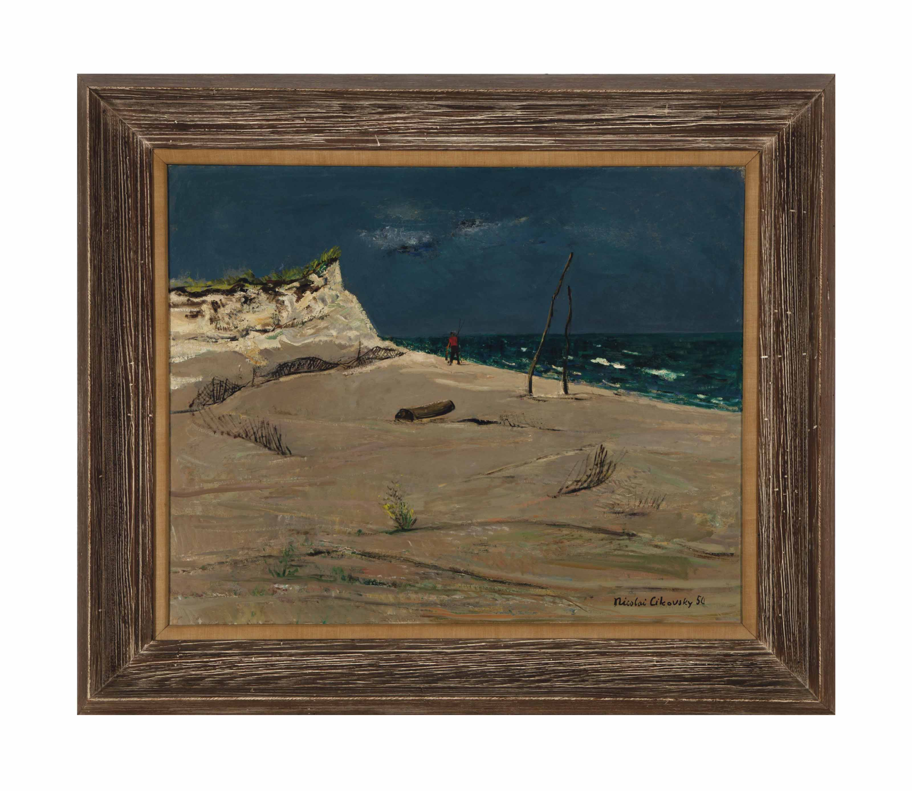 Untitled (Fisherman on the Beach)