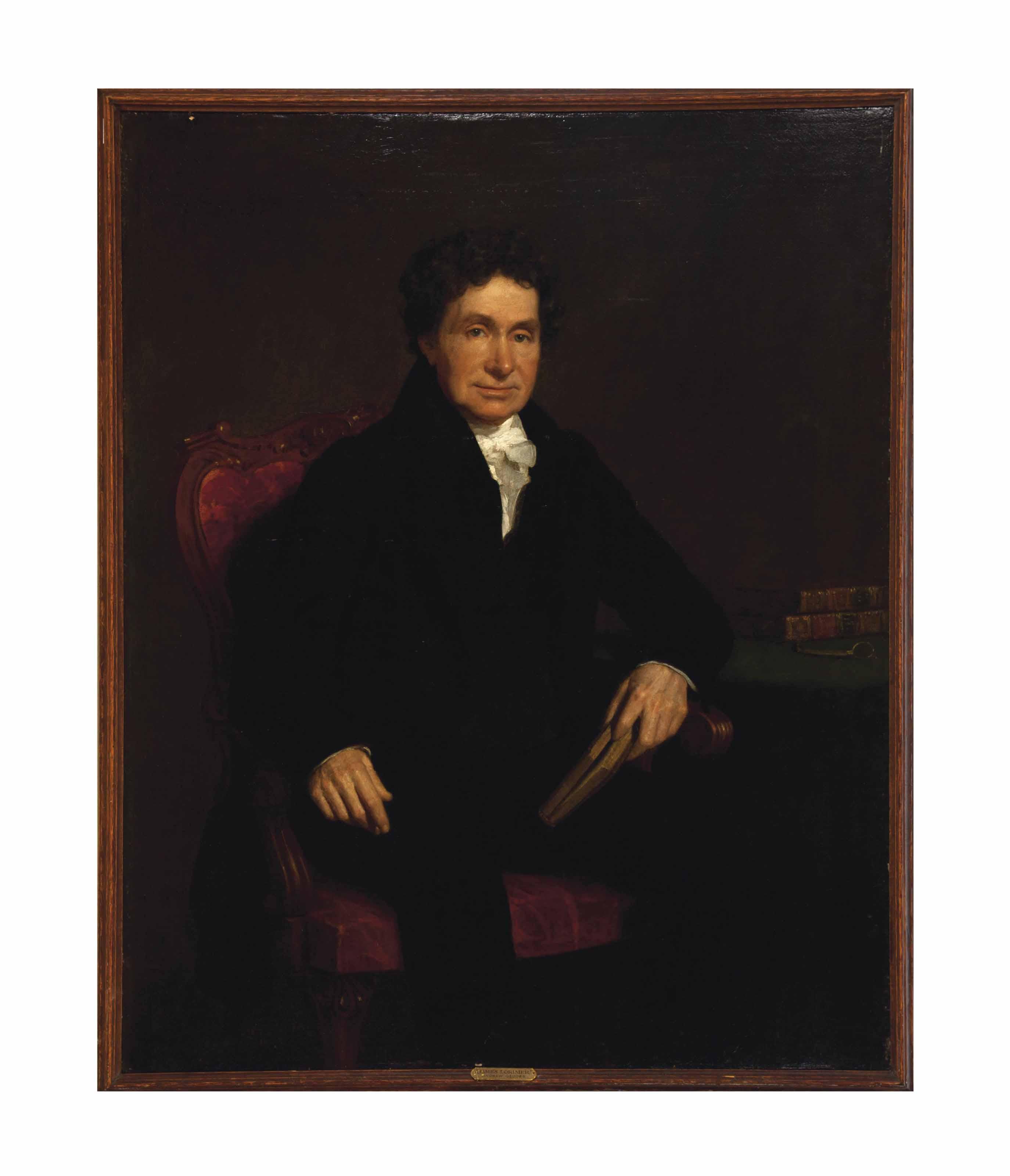 Portrait of James Lorimer