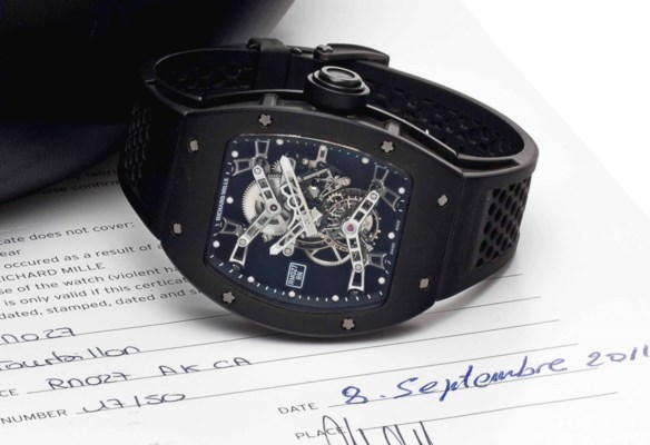 Richard Mille. A Fine and Rare