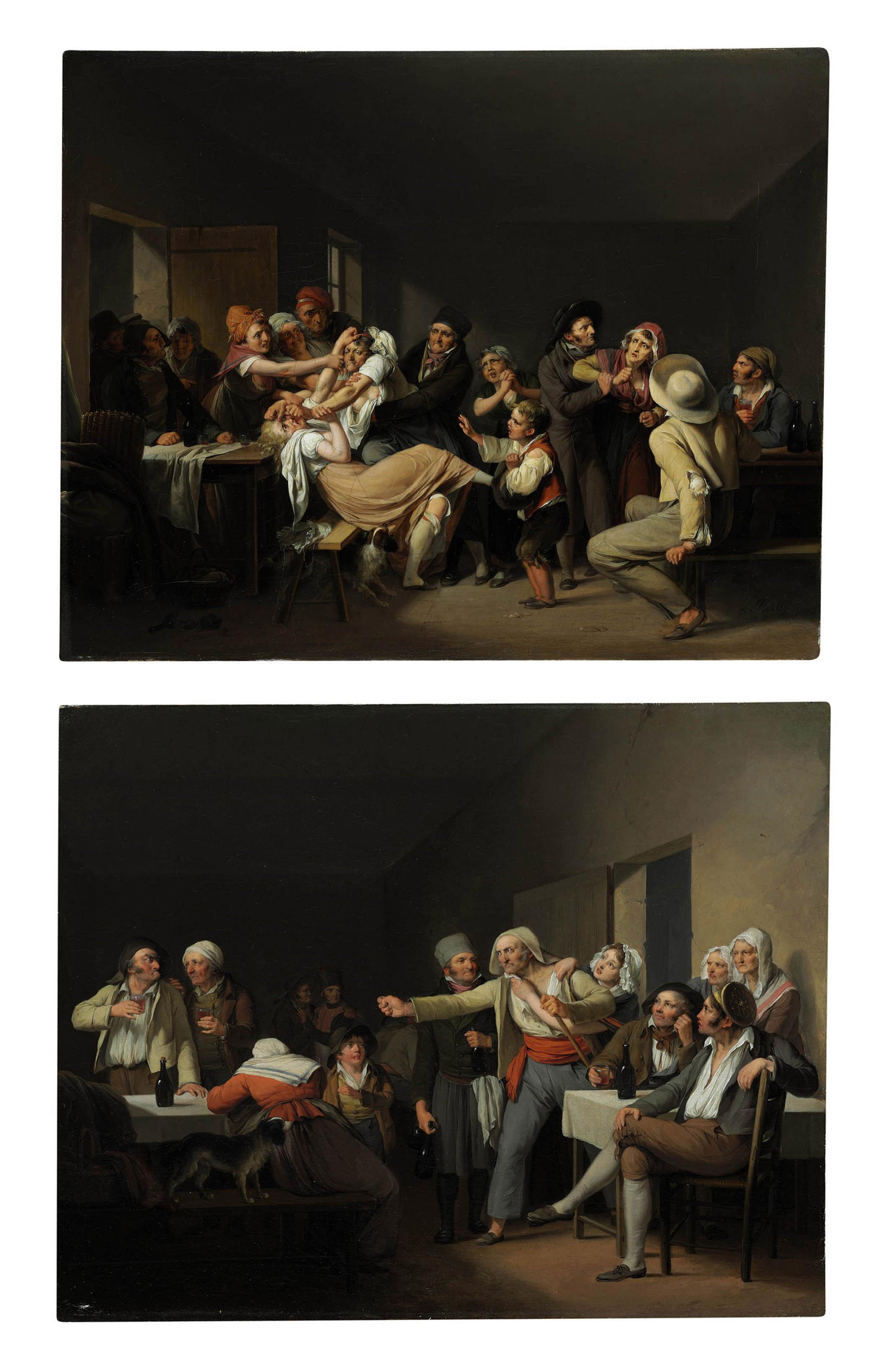 Les Femmes se battent; and Les Hommes se disputent