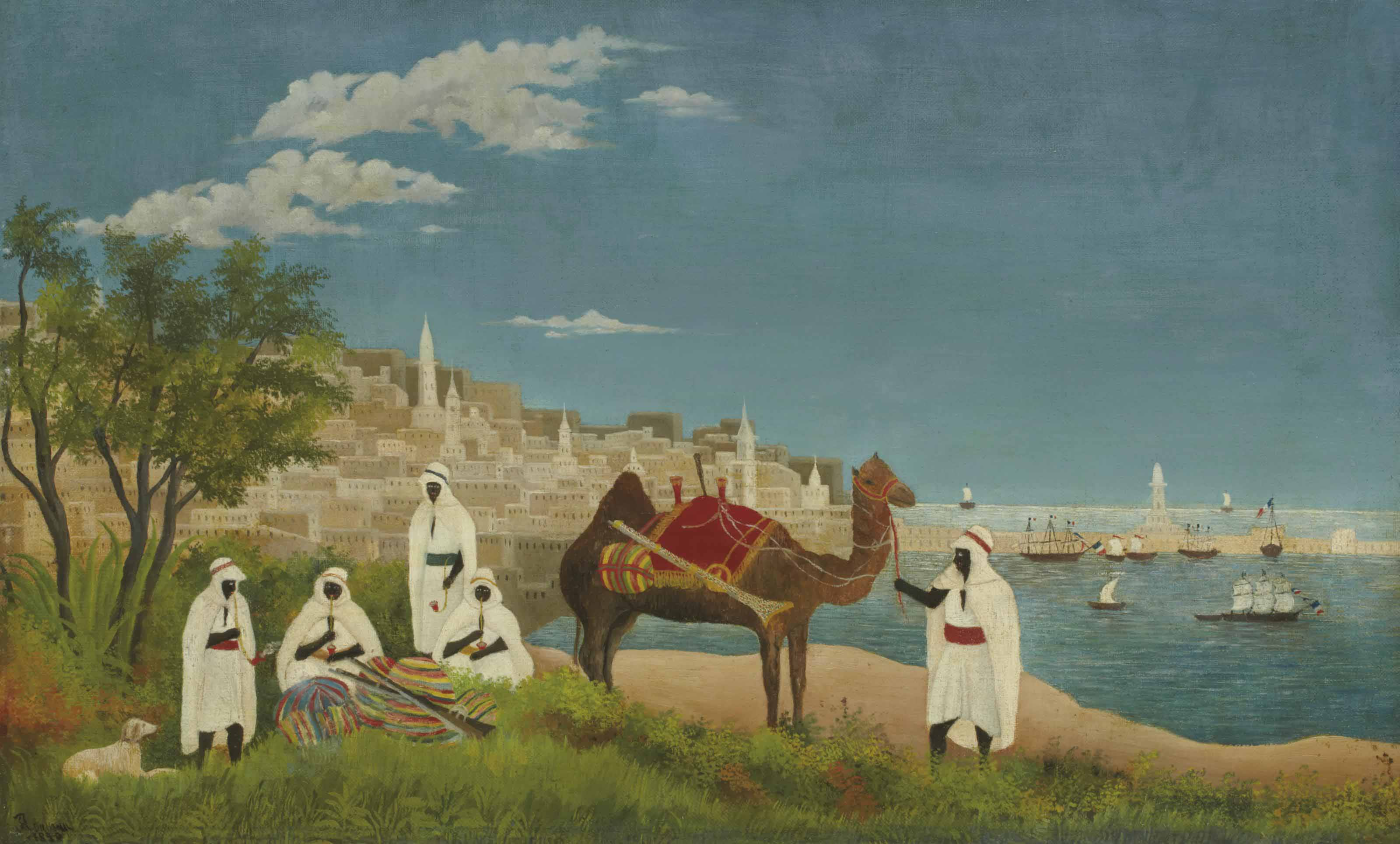 Paysage d'Alger