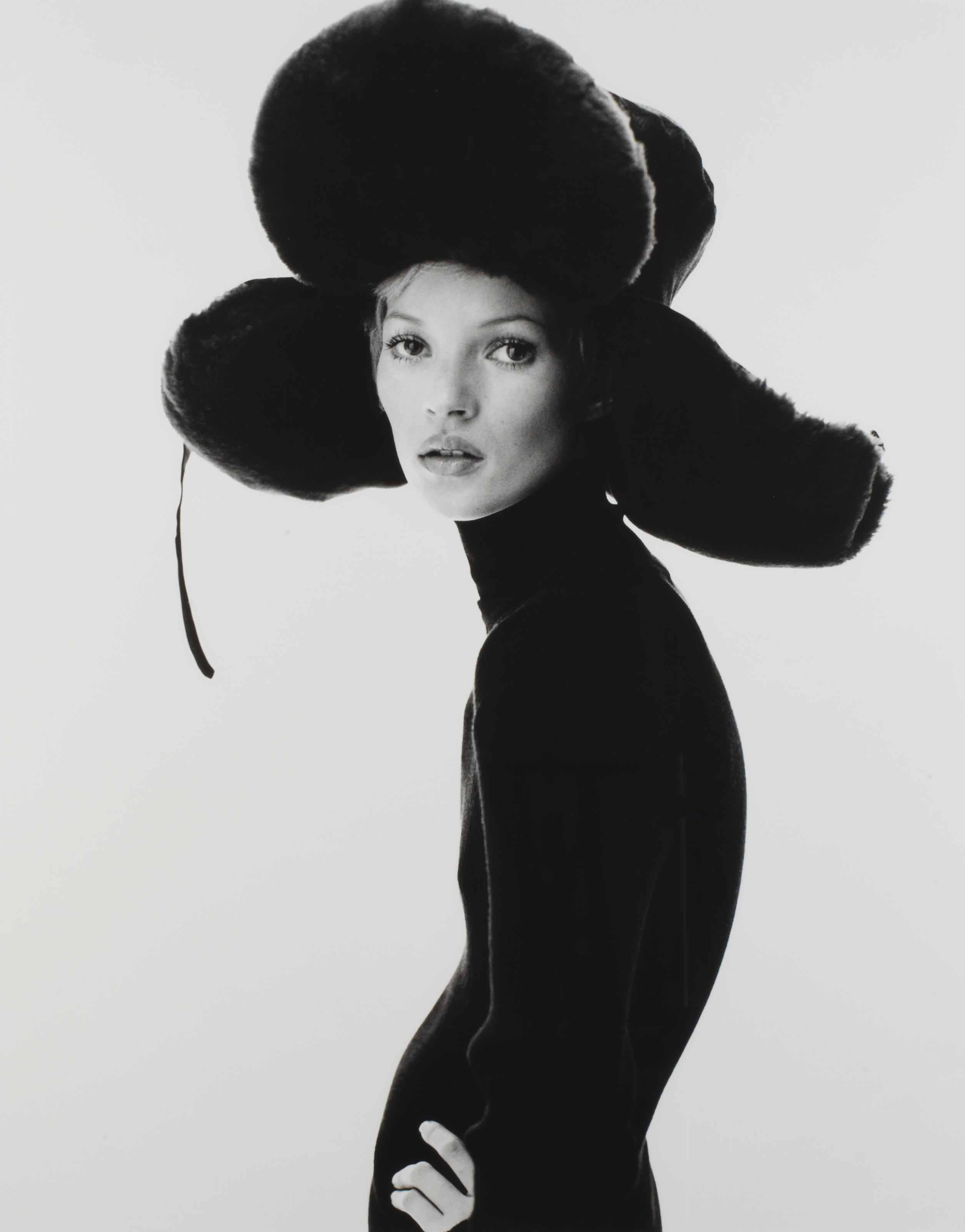 Girl with Hat (Kate Moss), 1993