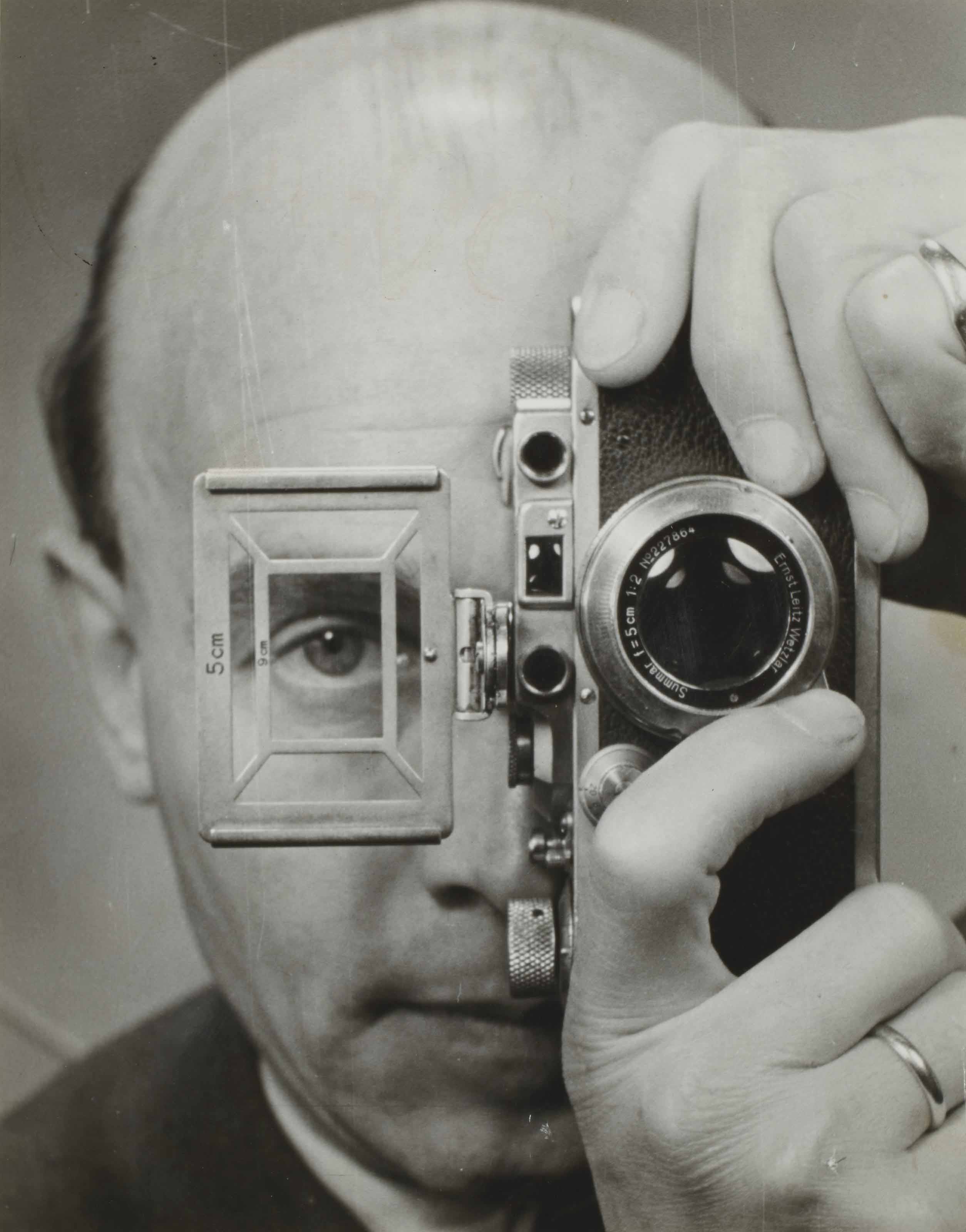 Self-portrait with Leica, 1952