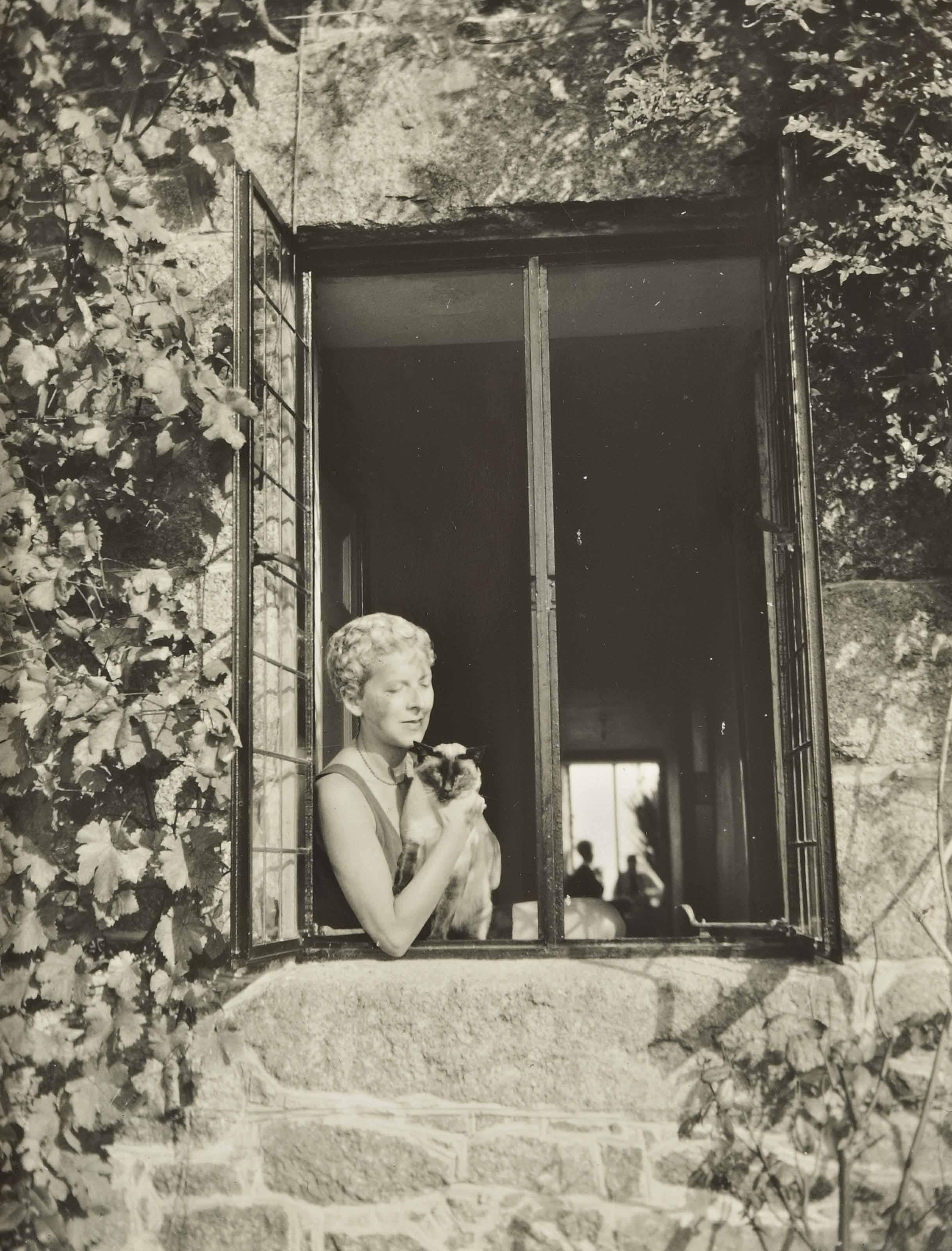 Autoportrait à la fenêtre, vers 1938