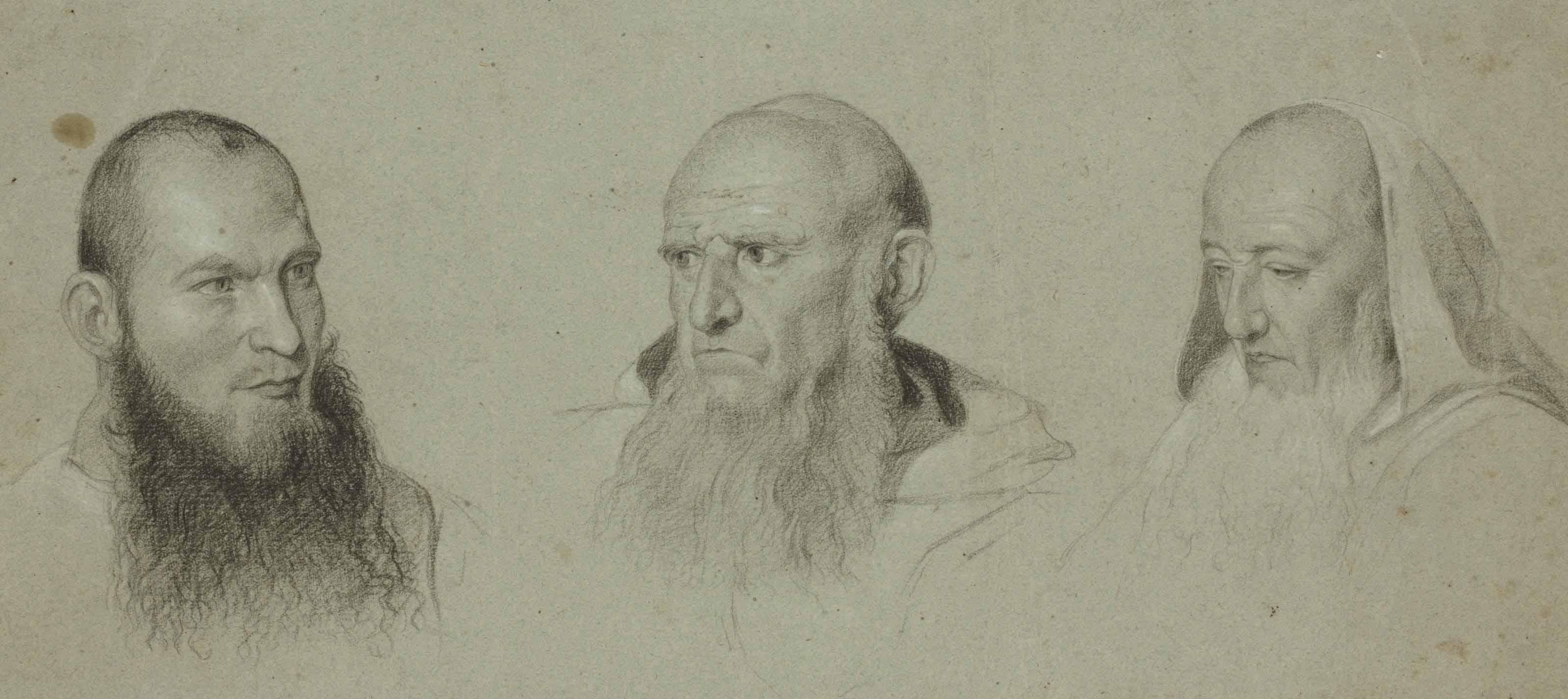 Têtes de moines camaldules