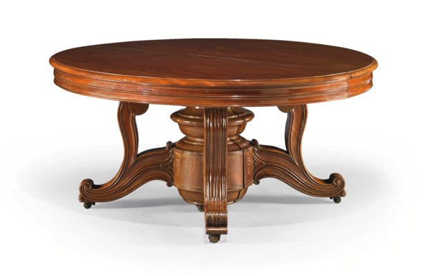 Table de salle a manger d 39 epoque louis philippe vers for Table salle a manger york