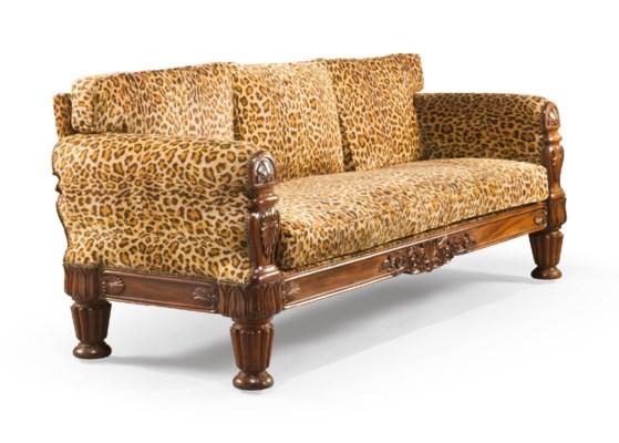 canape de style william iv angleterre d 39 apres un modele. Black Bedroom Furniture Sets. Home Design Ideas
