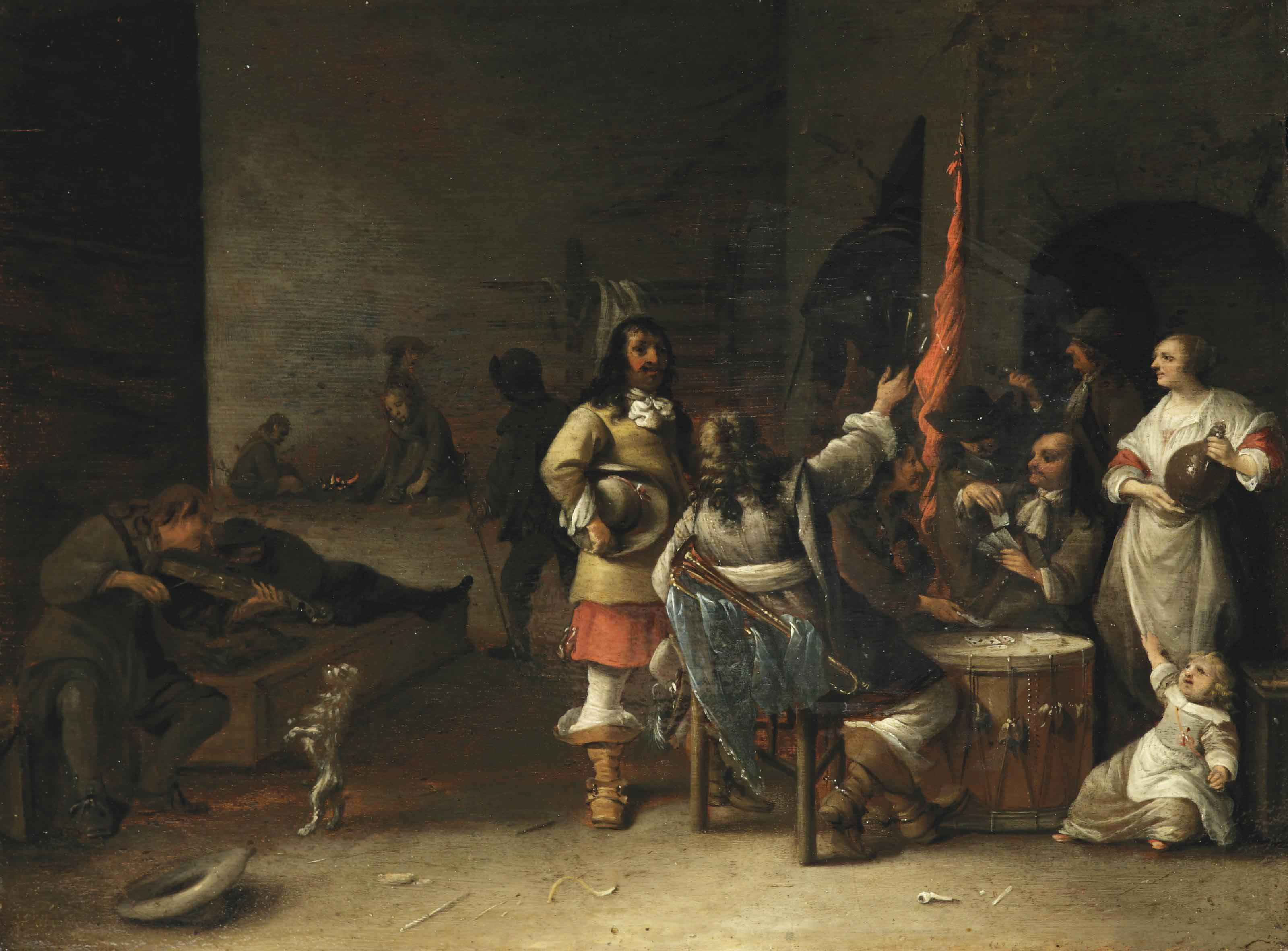 Guards in an interior