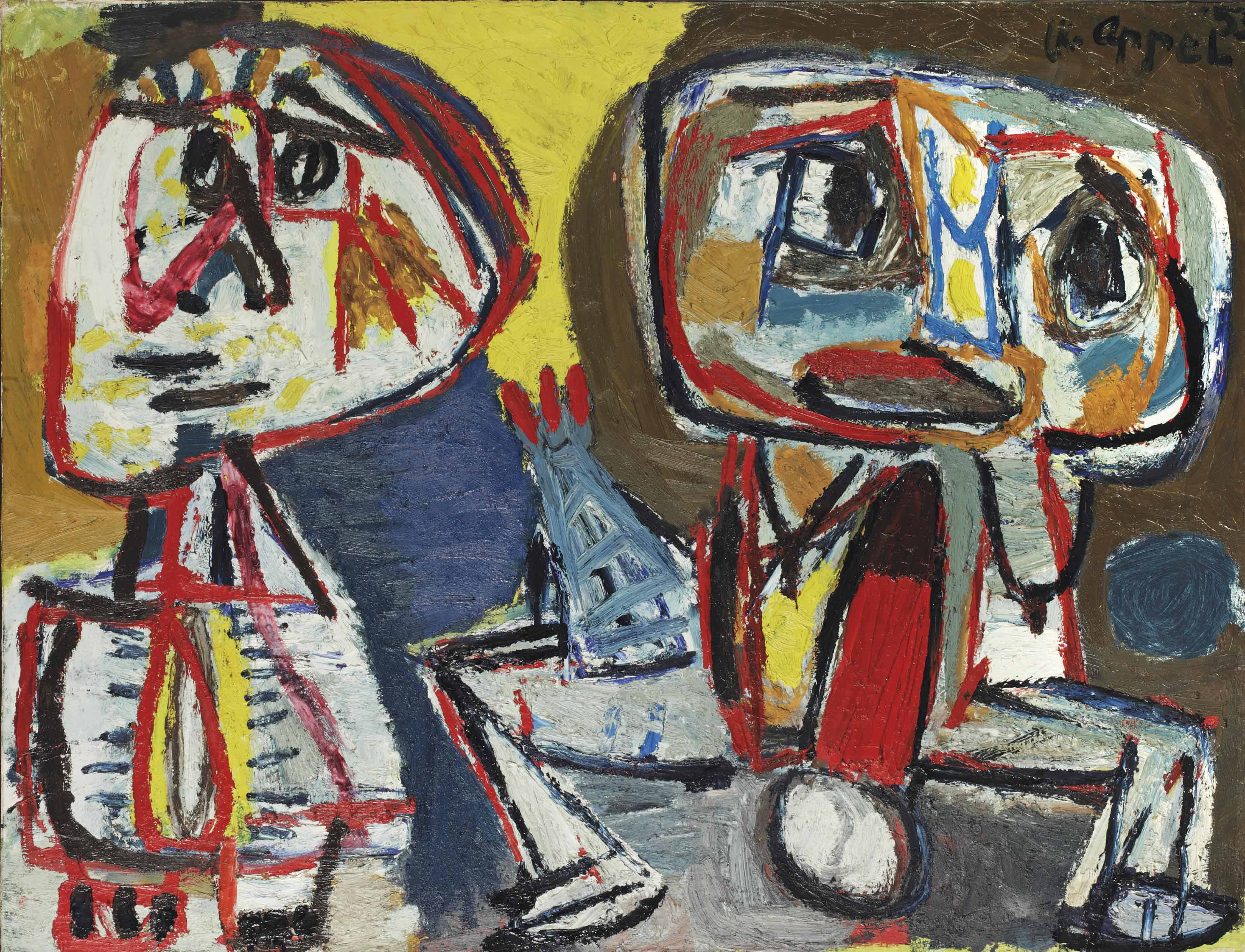 Deux personnages