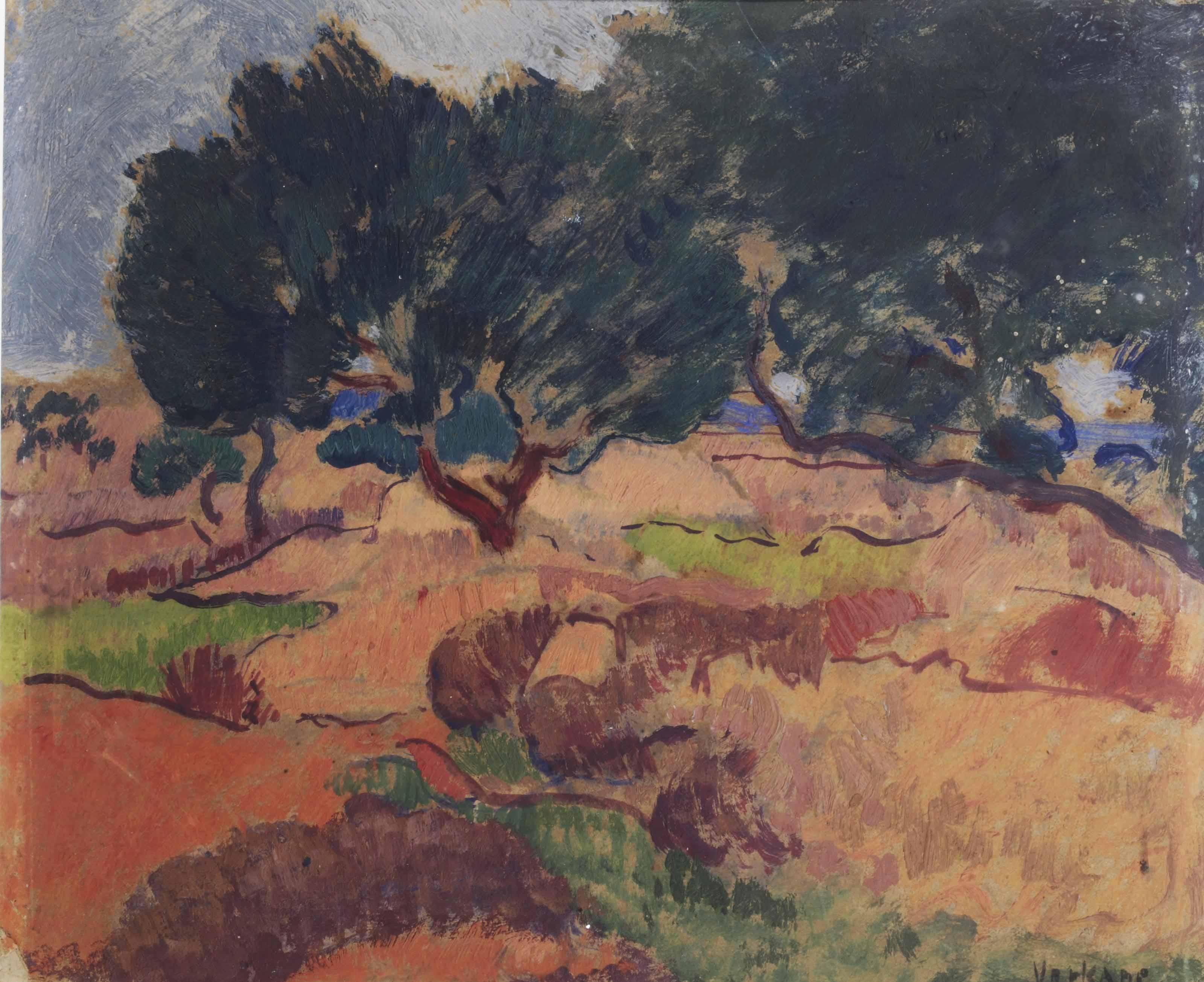 Landschap bij Jerusalem