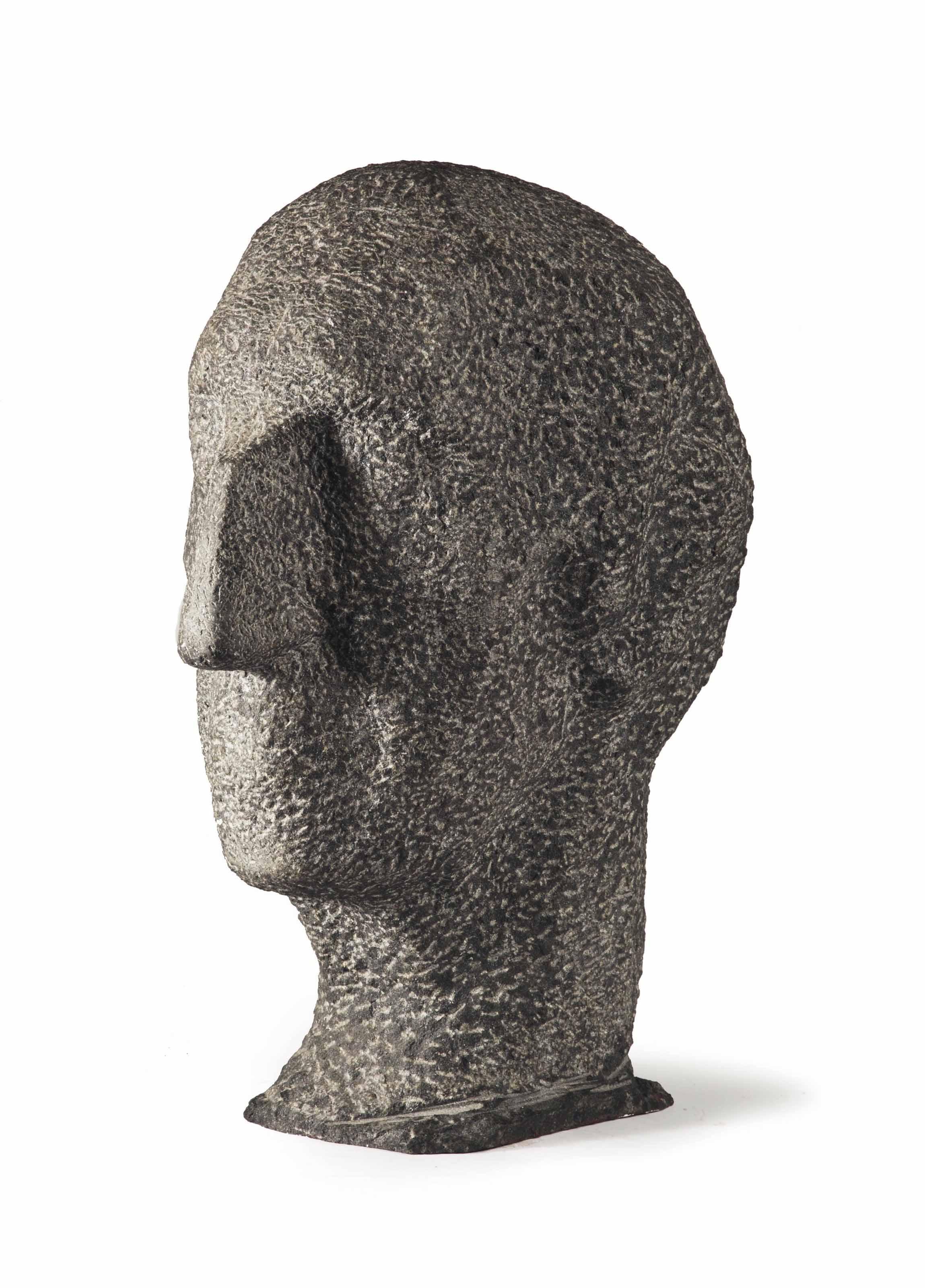 Portrait of the sculptor Albert Termote