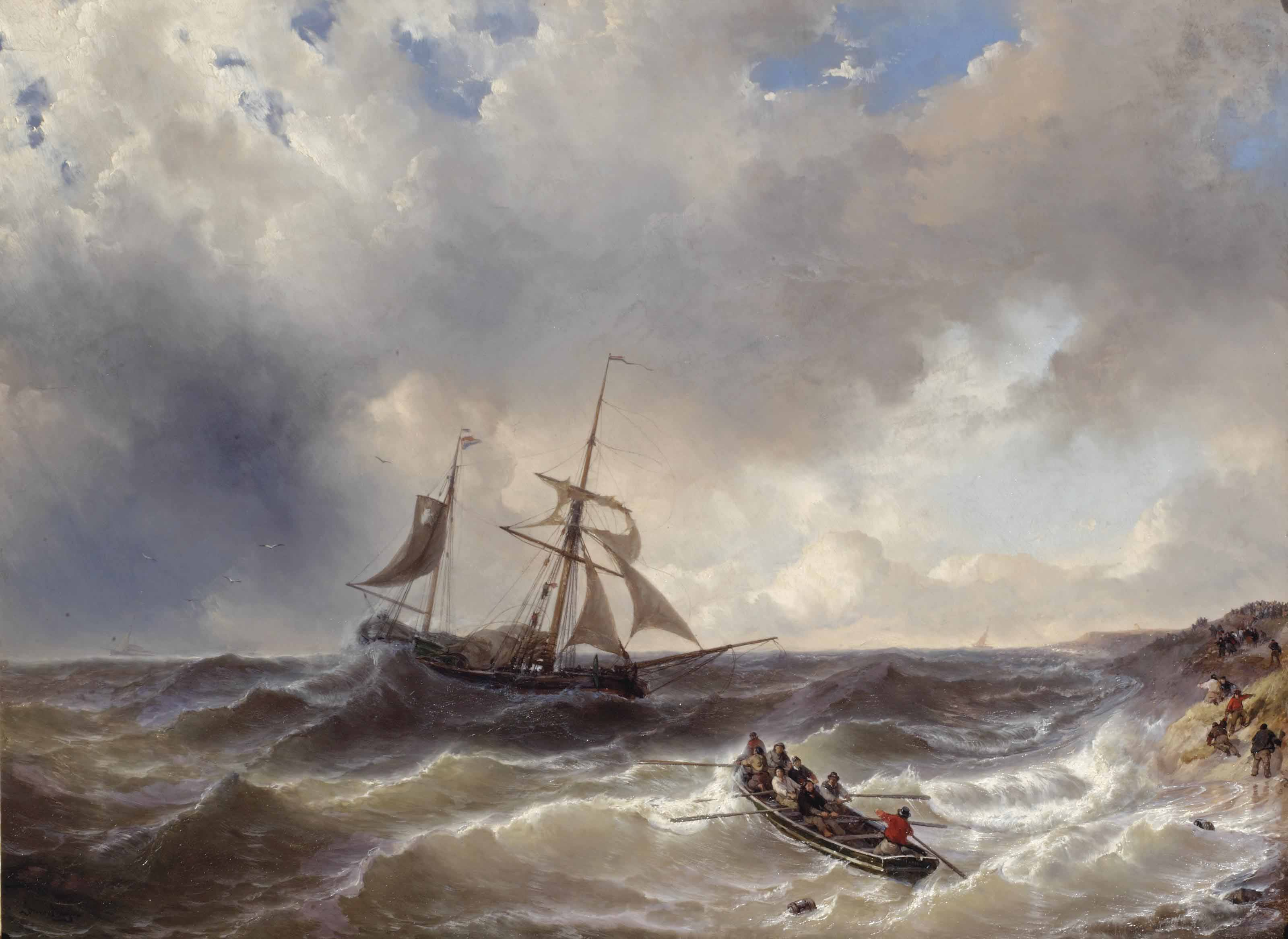 A two-master in choppy waters