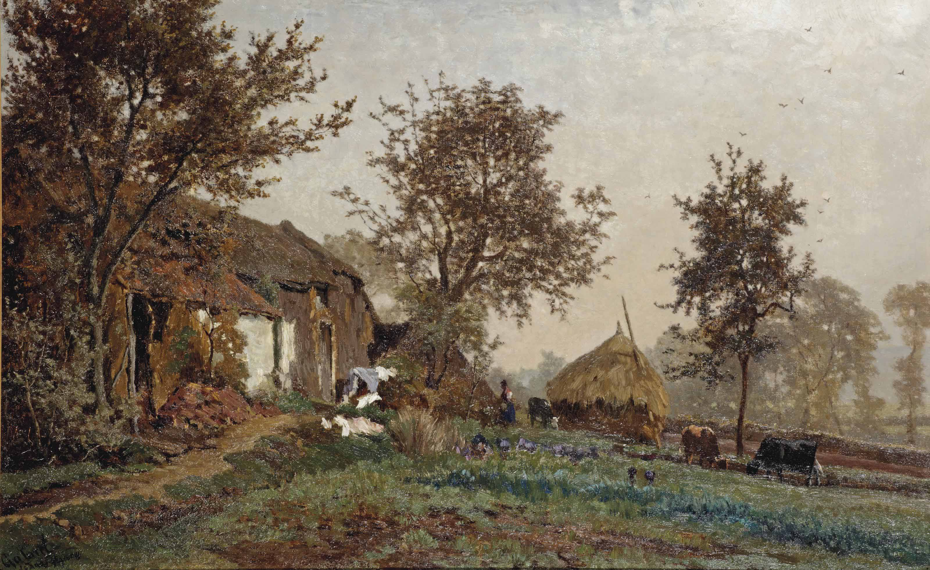 A farm in Oosterbeek