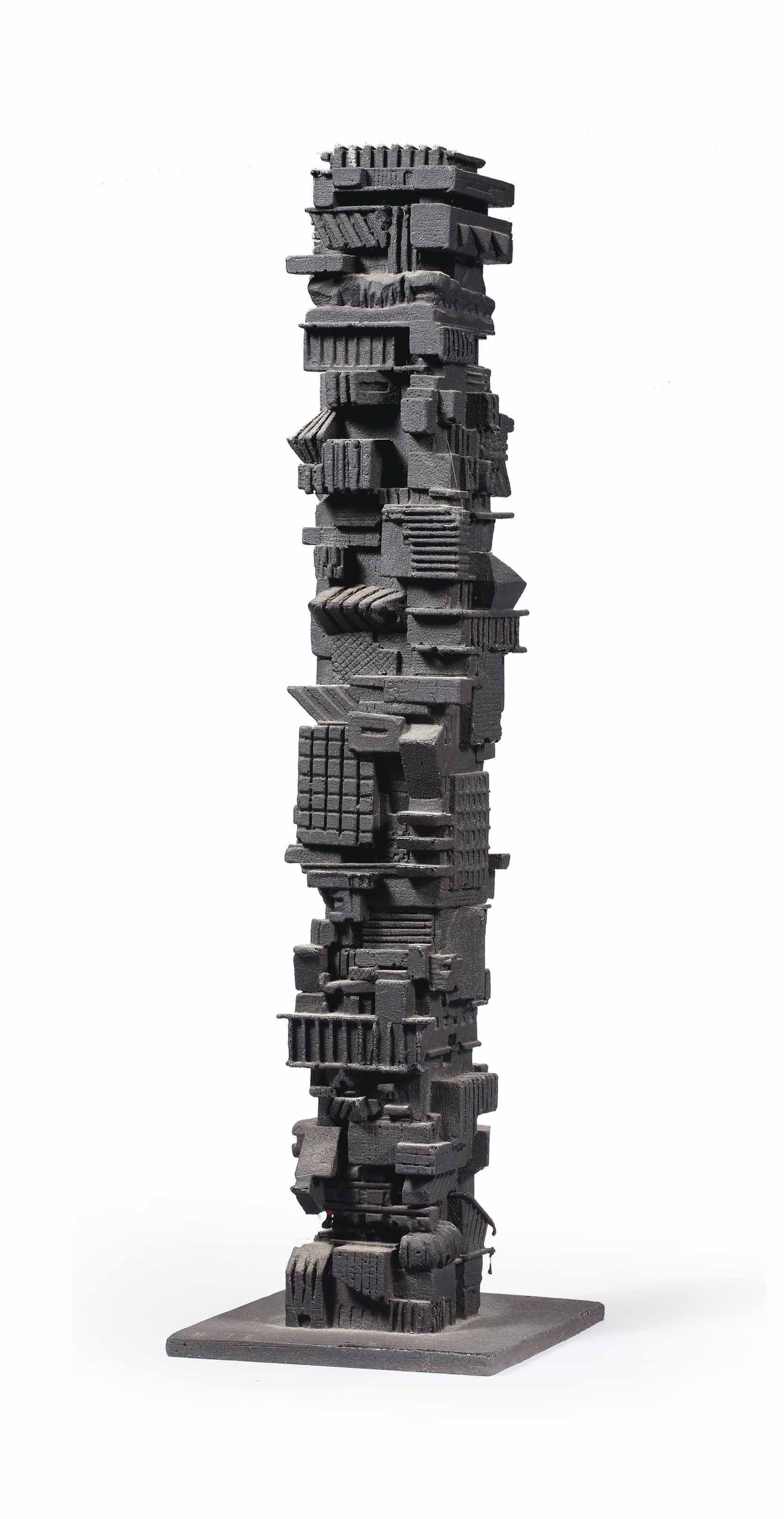 Maquette for non-homogenous apartment, San Paolo, Brazil