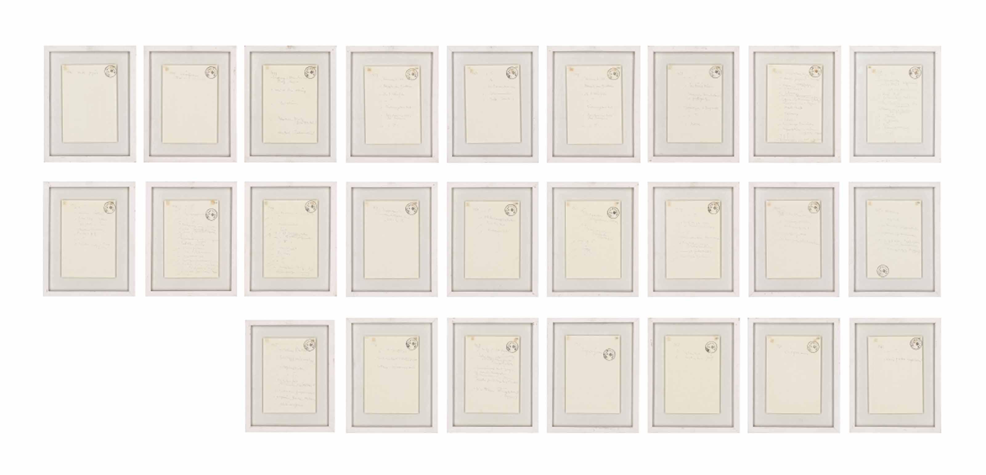 Untitled (25 Partituren) (25 Musical Scores)
