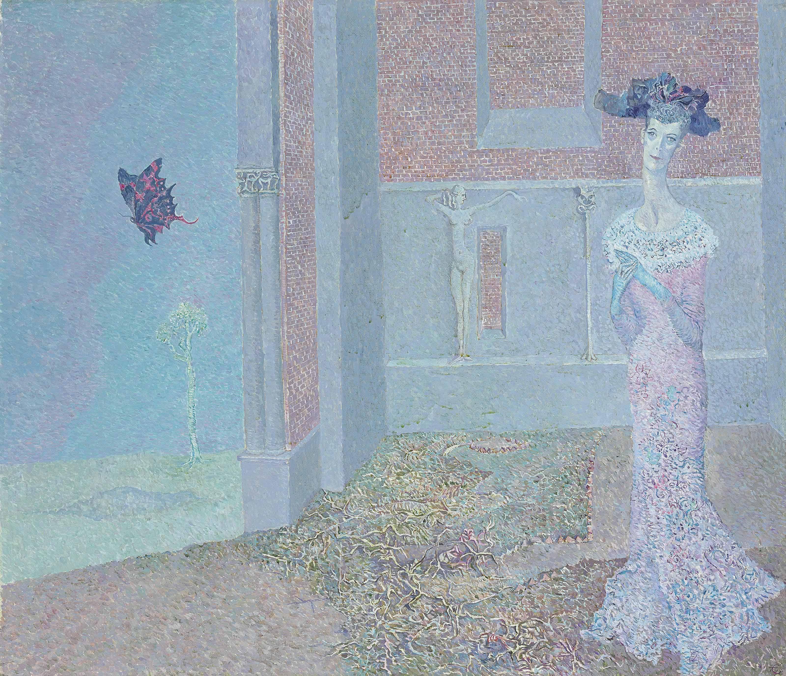 Posthumous portrait of a lady