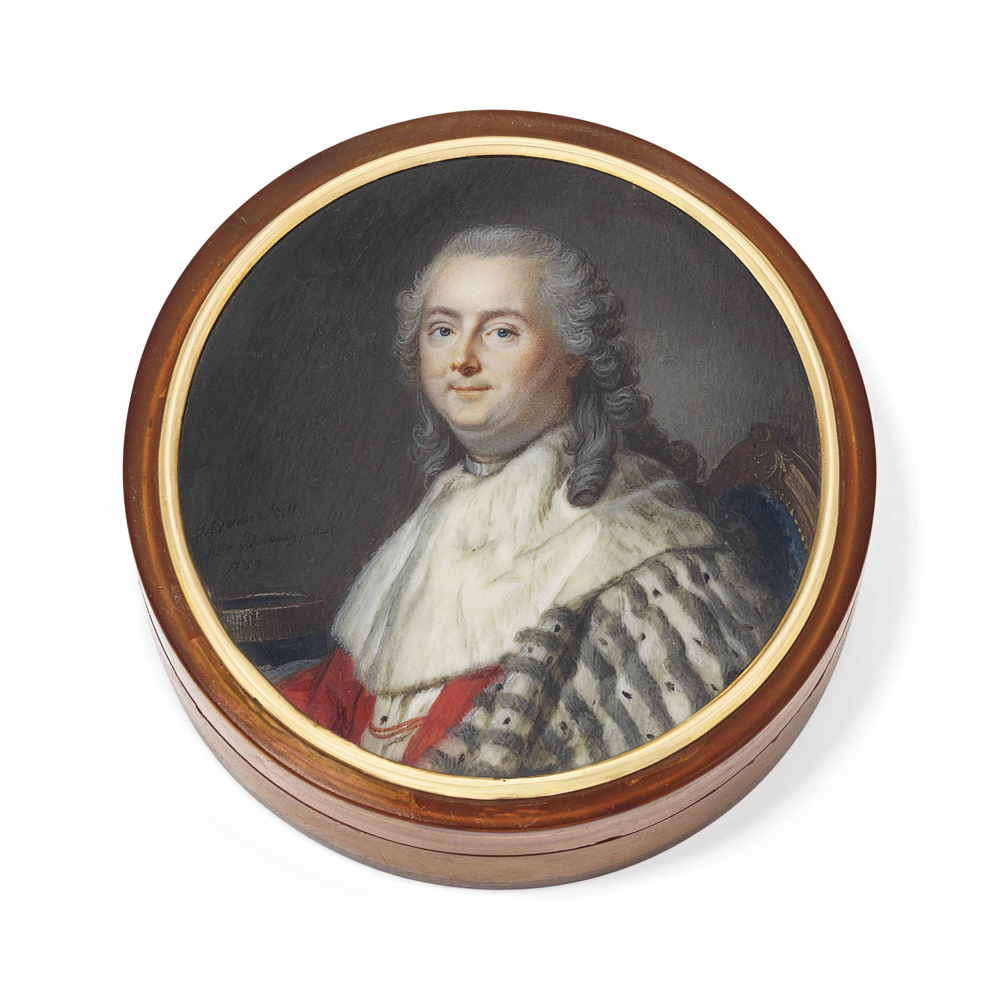 AUGUSTIN DUBOURG (FRENCH, 1750 - AFTER 1800) AFTER LOUIS MICHEL VAN LOO (FRENCH, 1707-1771)