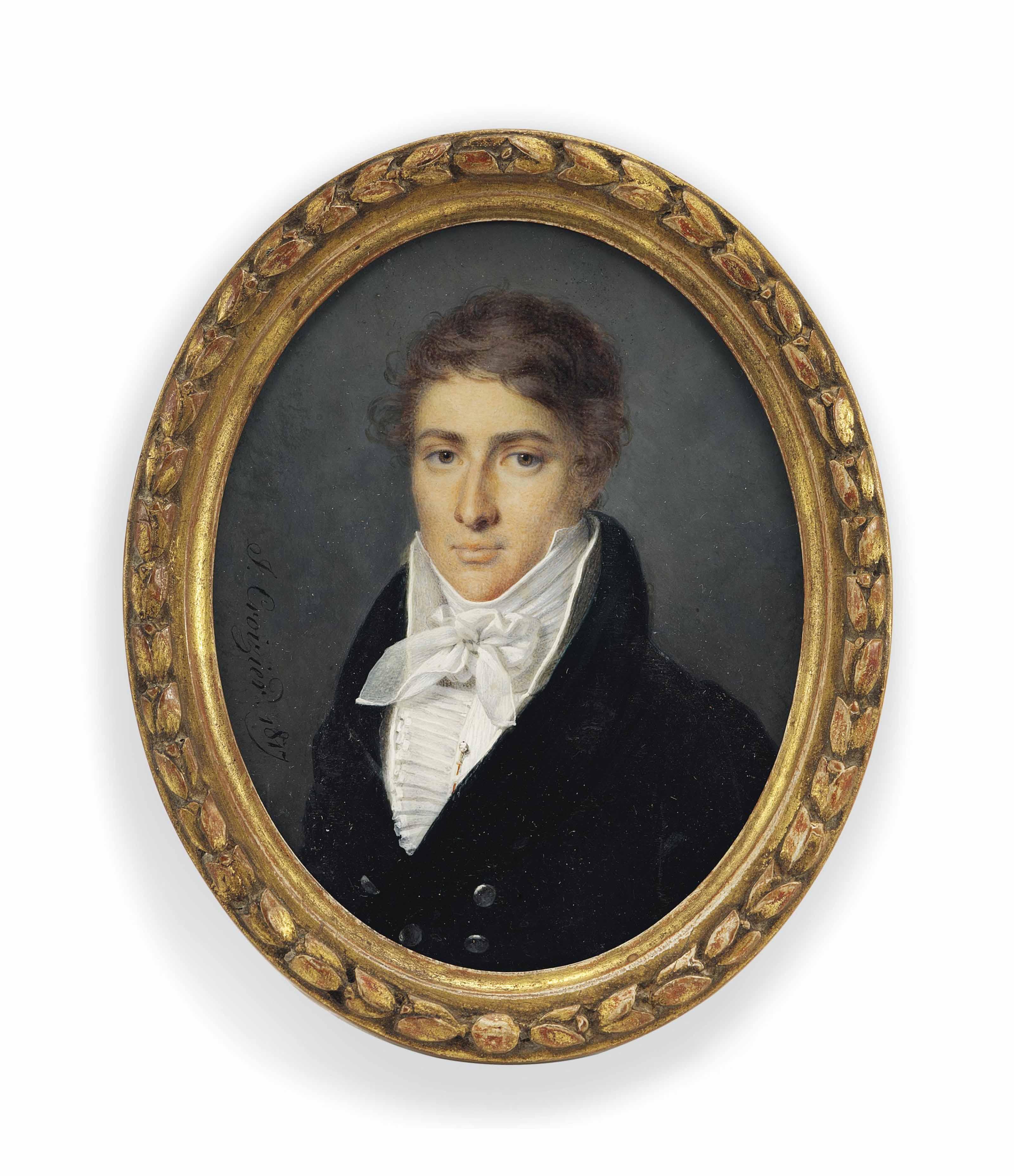 J. CROIZIER (FRENCH, FL. C. 1815-1825)