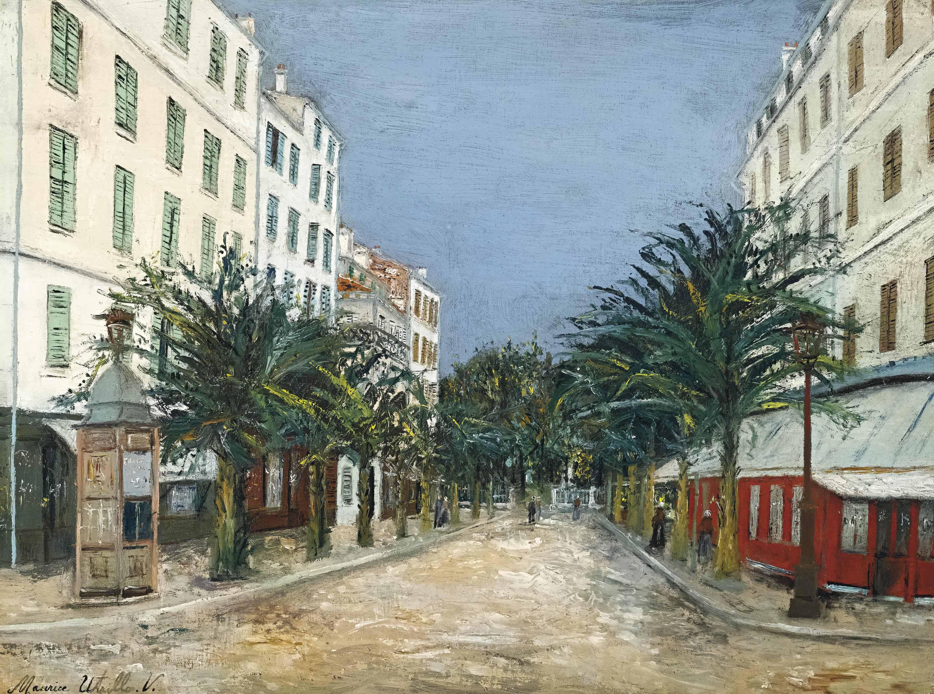 Rue à Hyères