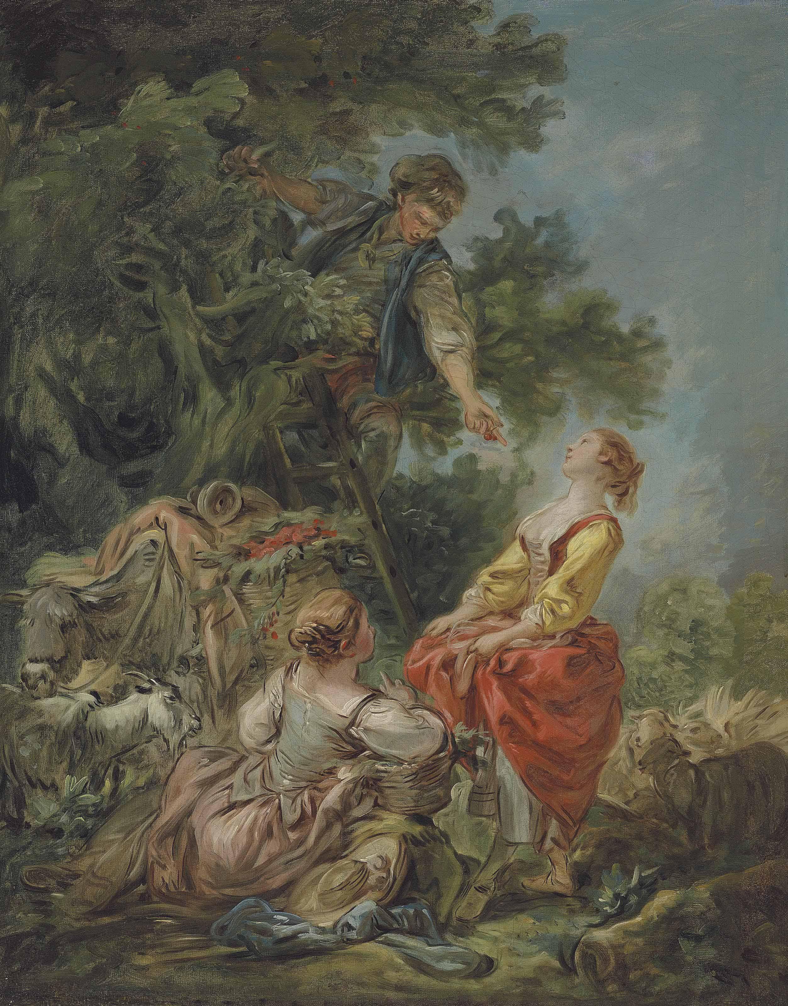 'La Cueillette des Cerises'