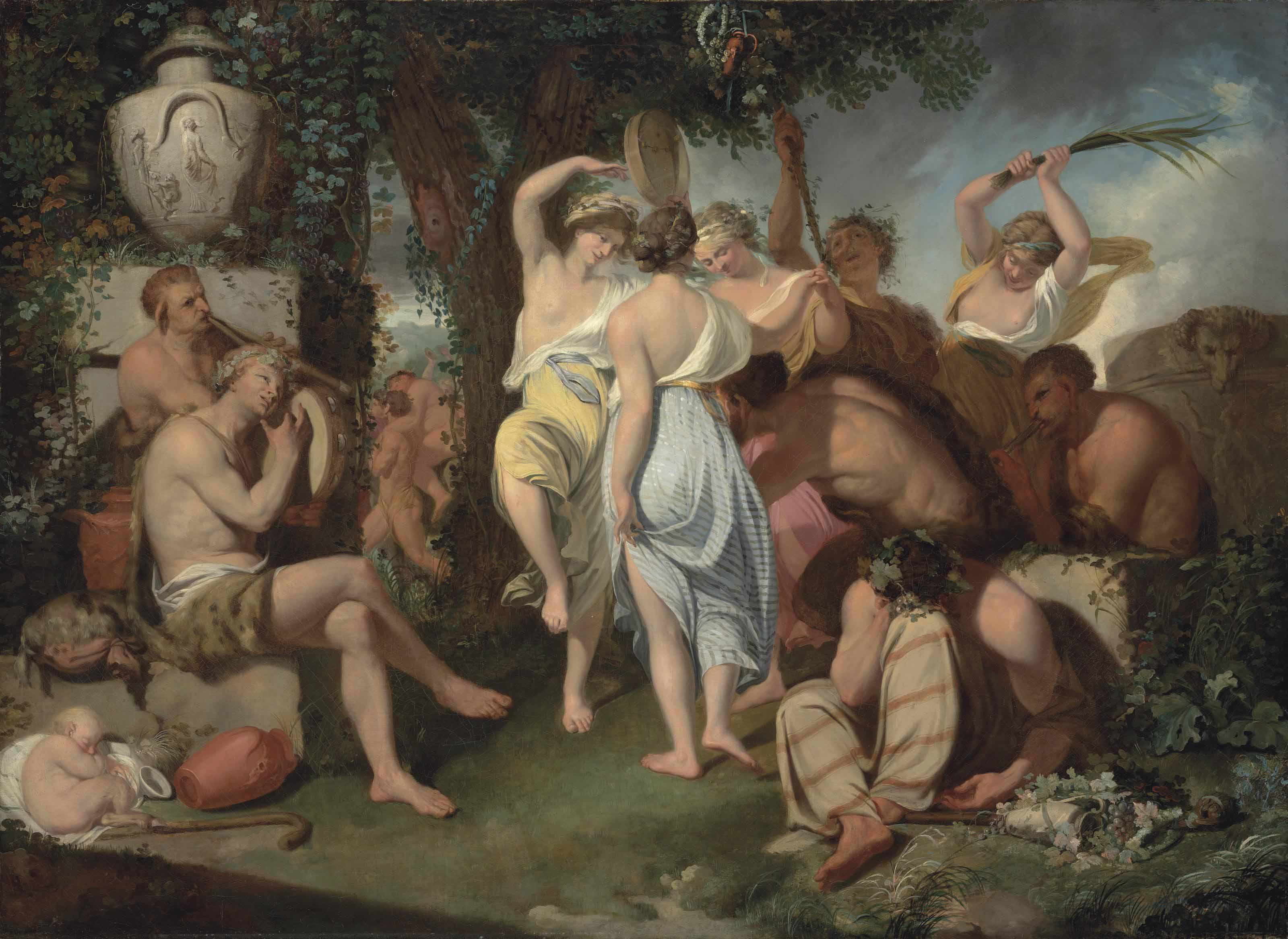 A Bacchanalian Dance