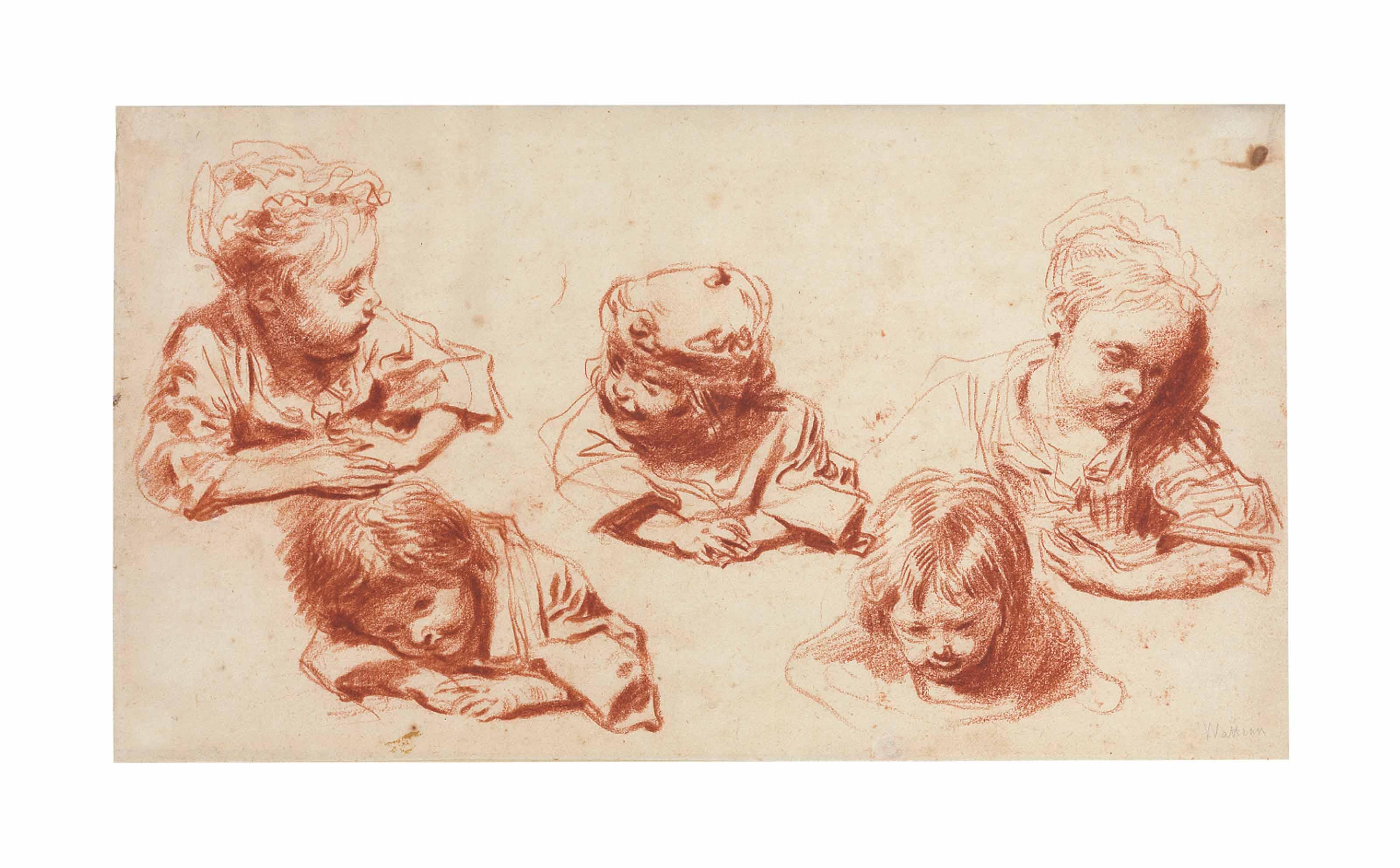 Five studies of children