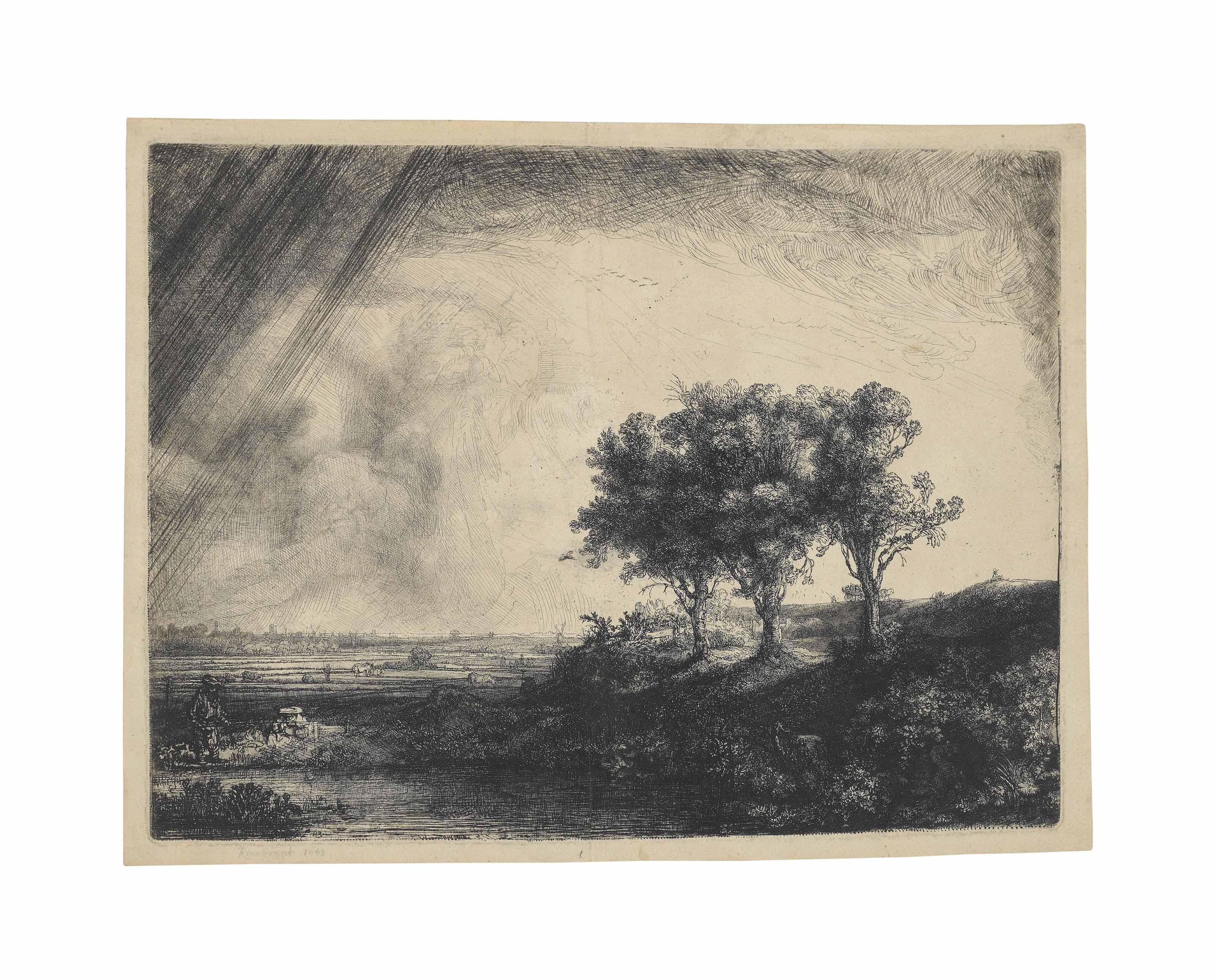The Three Trees (B., Holl. 212; H. 205; New Holl. 214)