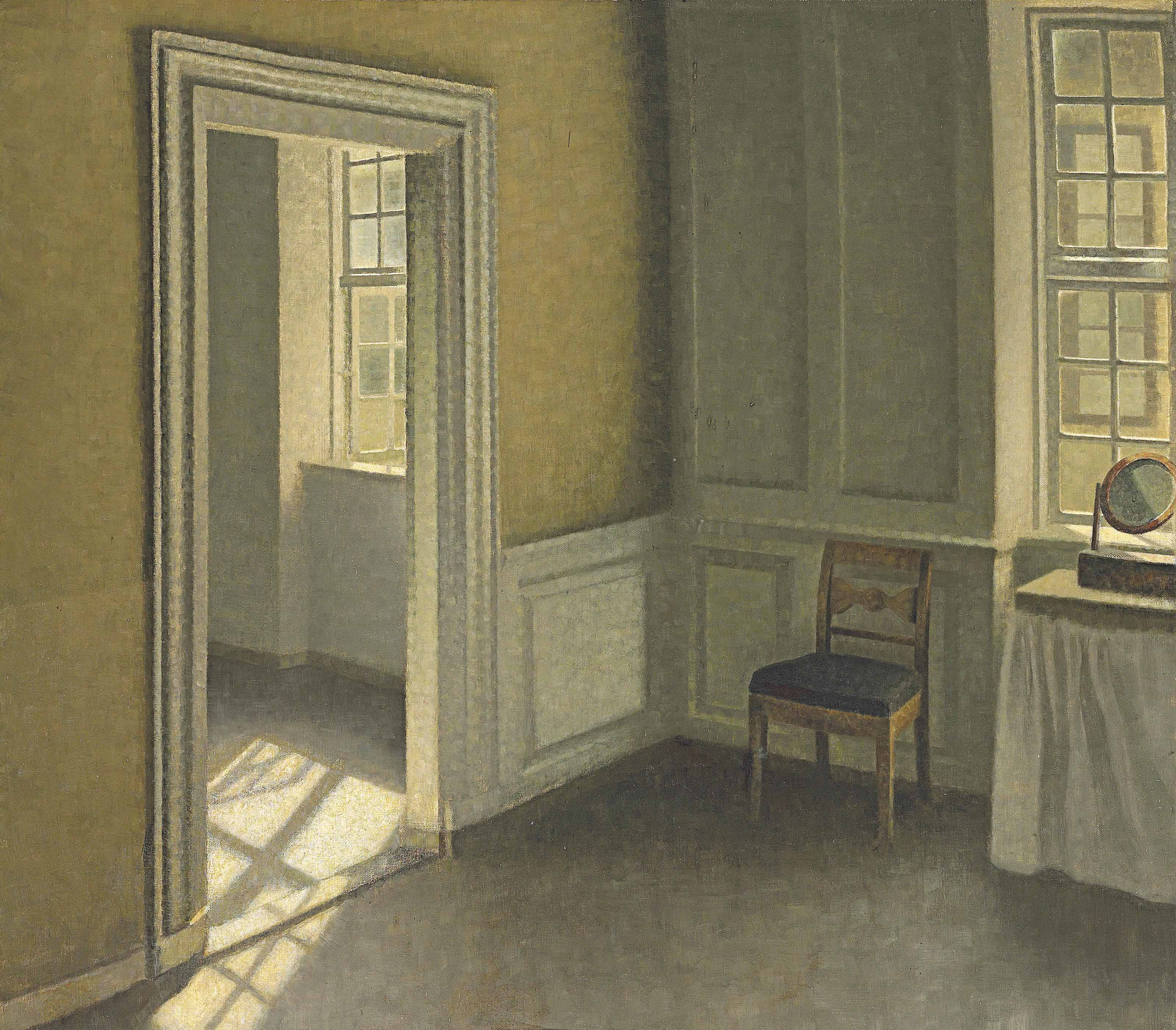 Bedroom, Strandgade 30