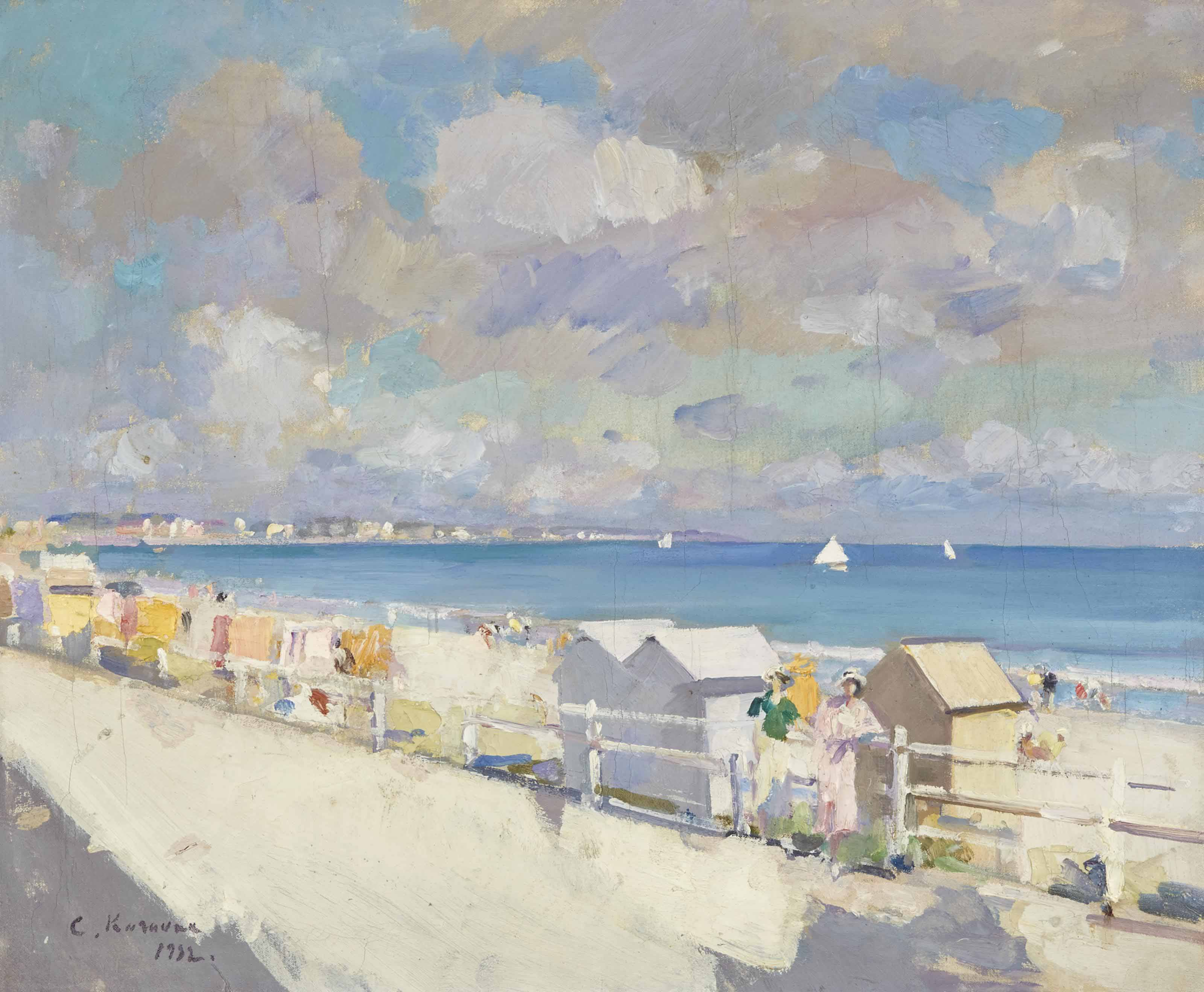 The shore at Deauville
