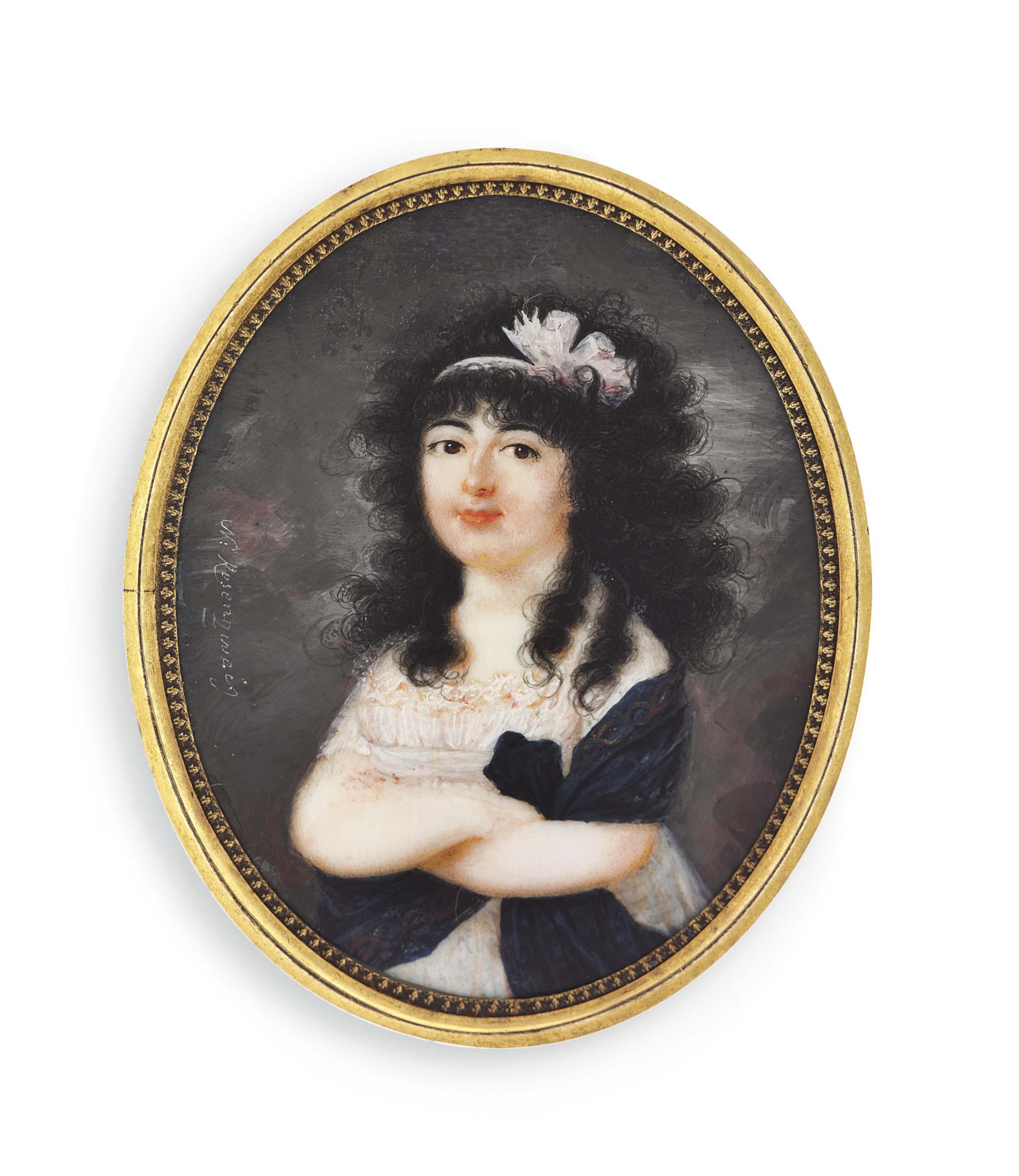 NANETTE ROSENZWEIG, NÉE WINDISCH (AUSTRIAN, FL. C. 1790-1820)