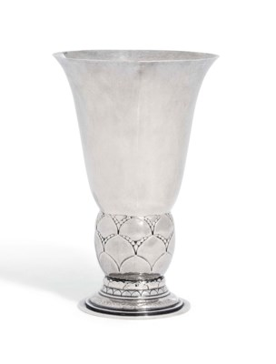 A DANISH VASE DESIGNED BY GEOR