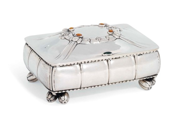 A DANISH JEWEL-CASKET DESIGNED