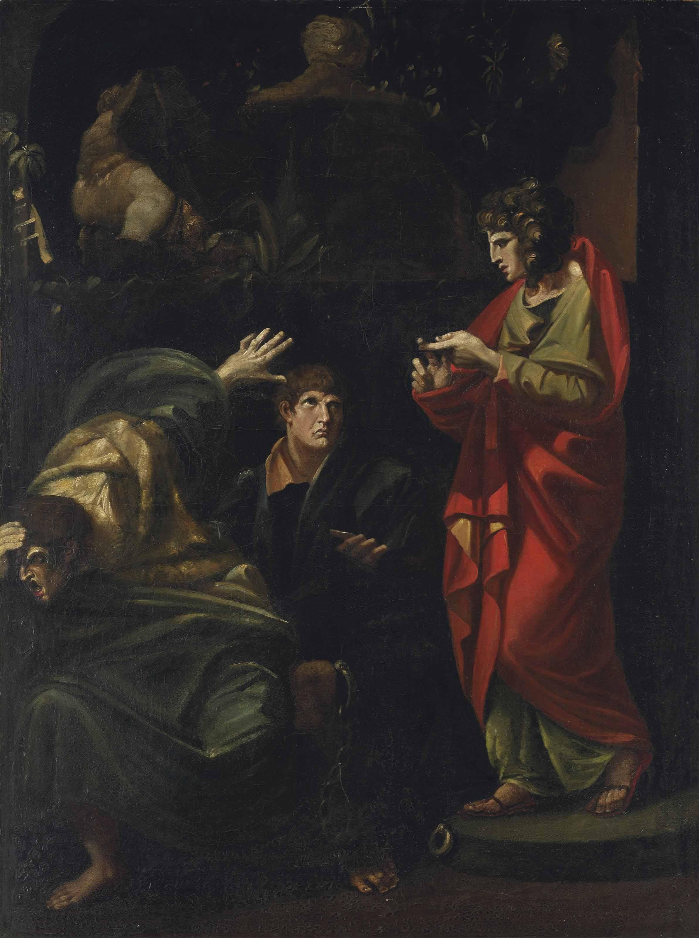 Joseph interpreting the Dreams of the Pharaoh's Baker and Butler