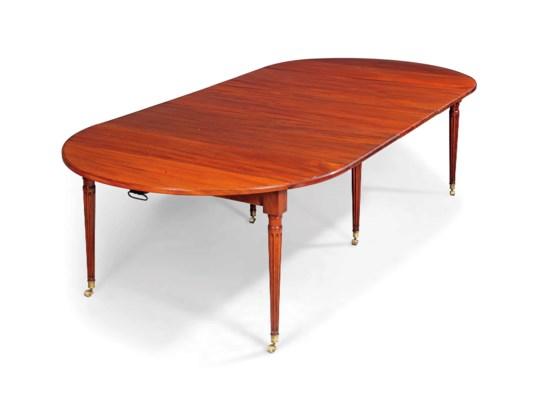 A LOUIS XVI ORMOLU MOUNTED MAHOGANY EXTENDING DINING TABLE  : 2013CKS011660123000alouisxviormolu mountedmahoganyextendingdining tablelate18thc from www.christies.com size 538 x 400 jpeg 19kB