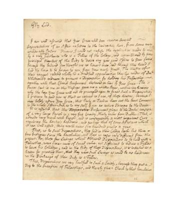 SWIFT, Jonathan (1667-1745). A
