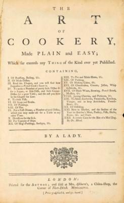 [GLASSE, Hannah (1708-1770).]