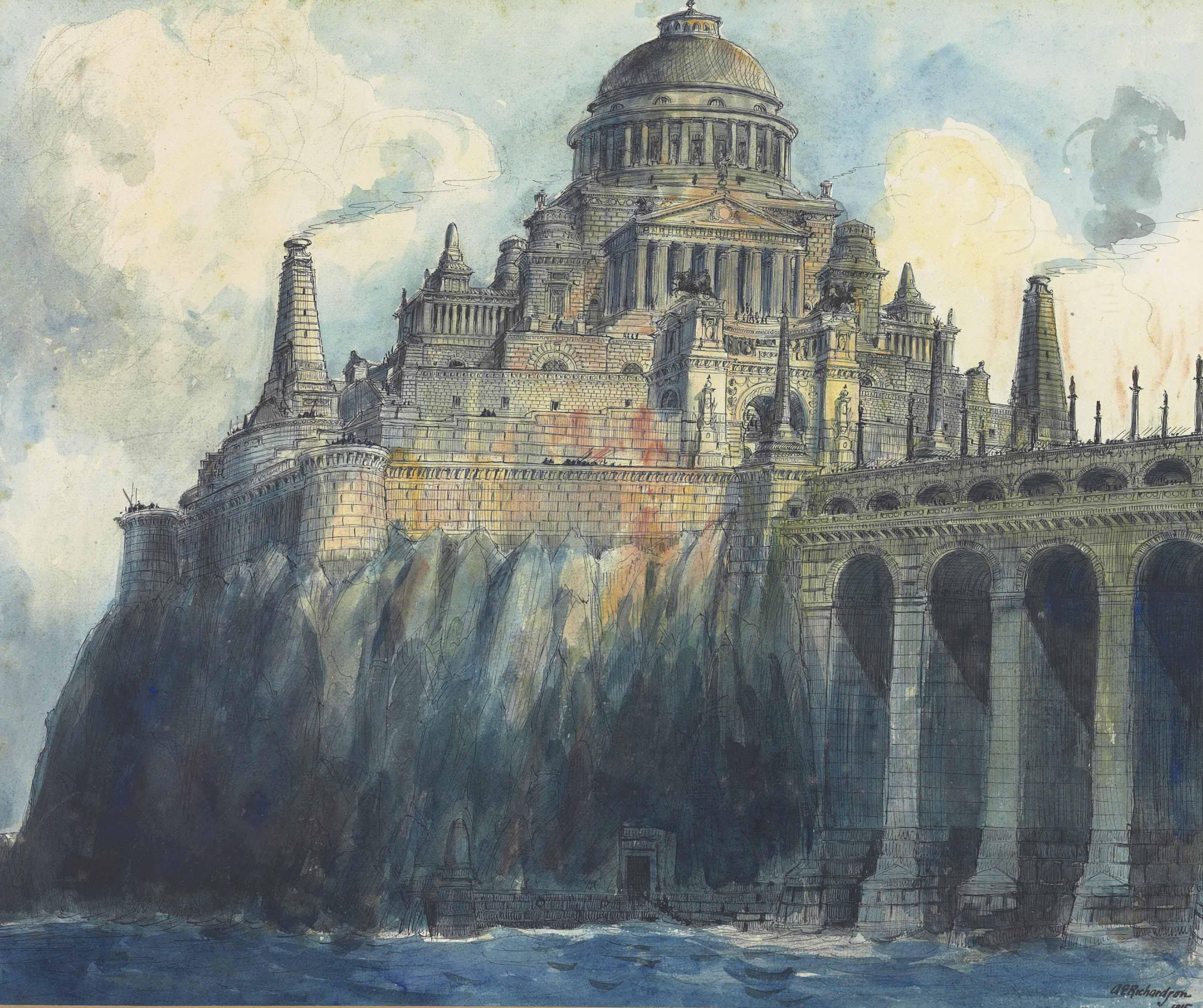 A Fantasy of Kubla Khan's Palace